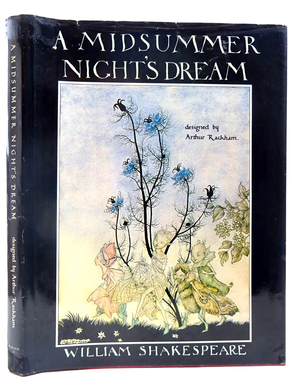 Photo of A MIDSUMMER NIGHT'S DREAM written by Shakespeare, William illustrated by Rackham, Arthur<br />Hewitt, Graily published by Weidenfeld and Nicolson (STOCK CODE: 2128133)  for sale by Stella & Rose's Books