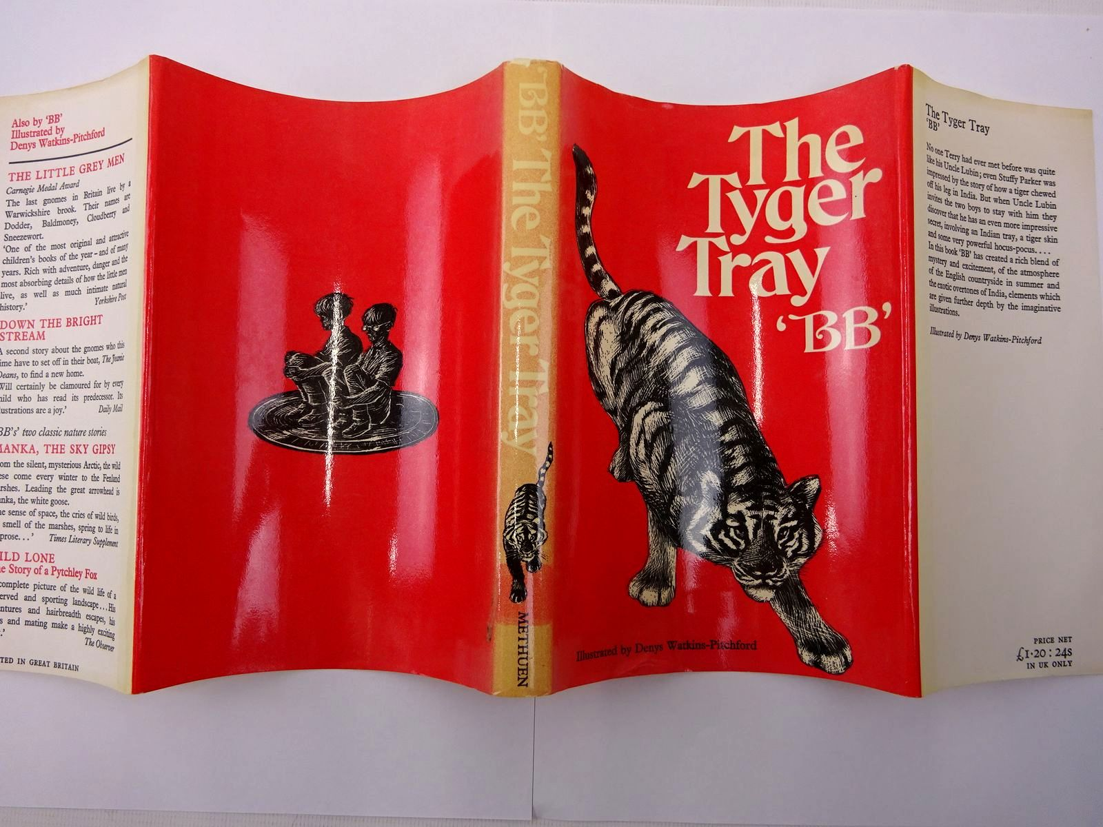 Photo of THE TYGER TRAY written by BB,  illustrated by BB,  published by Methuen & Co. Ltd. (STOCK CODE: 2128138)  for sale by Stella & Rose's Books