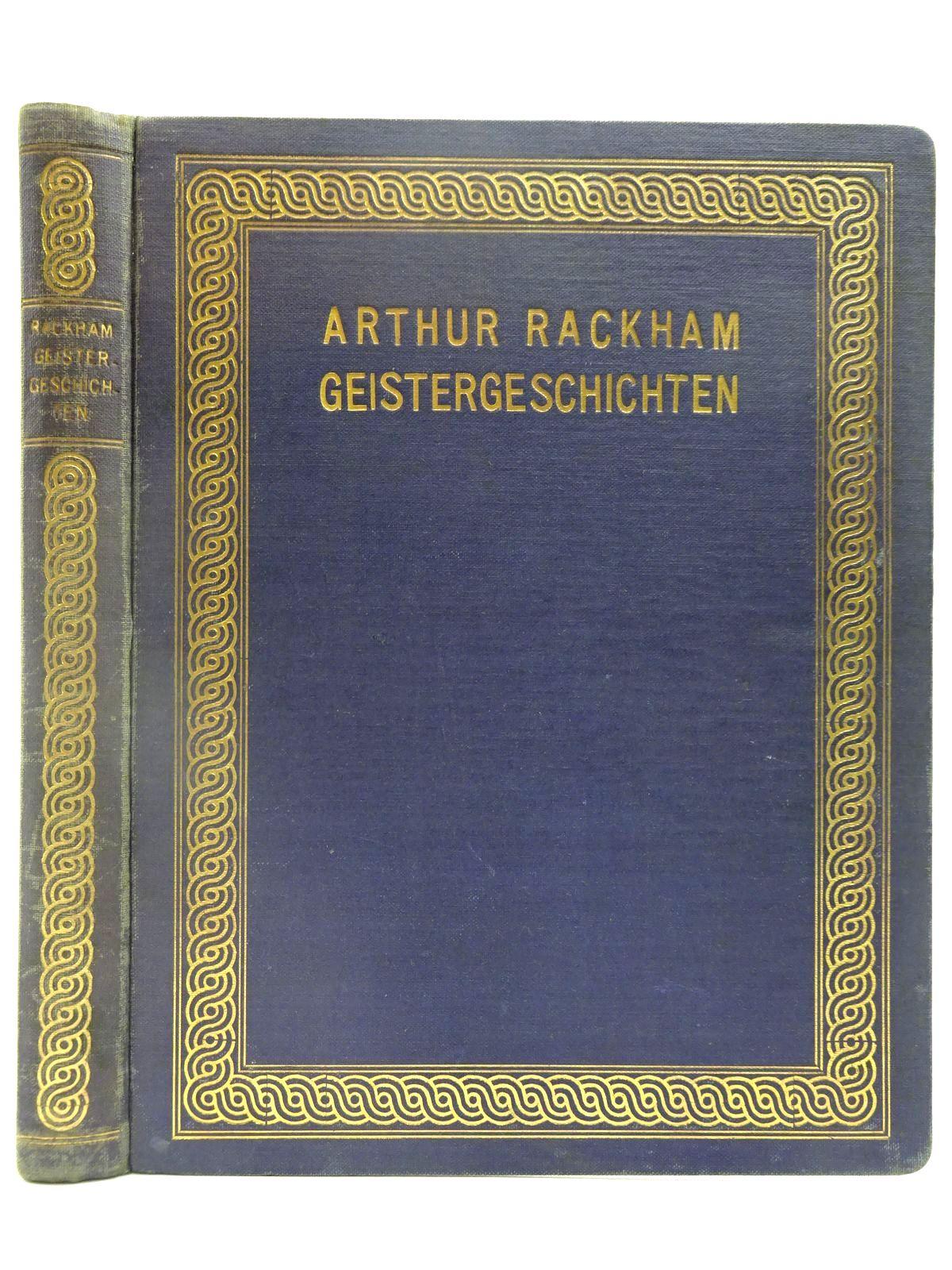 Photo of GEISTERGESCHICHTEN written by Hauff, Wilhelm<br />Wells, H.G.<br />et al, illustrated by Rackham, Arthur published by Rascher & Cie (STOCK CODE: 2128139)  for sale by Stella & Rose's Books