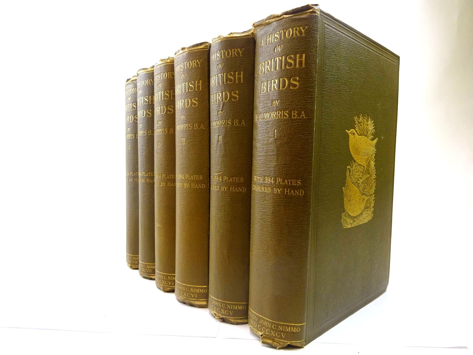 Photo of A HISTORY OF BRITISH BIRDS (6 VOLUMES) written by Morris, F.O. published by John C. Nimmo (STOCK CODE: 2128141)  for sale by Stella & Rose's Books