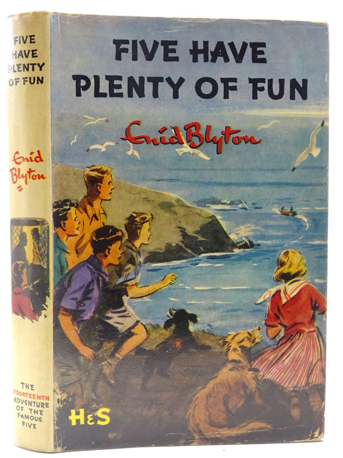 Photo of FIVE HAVE PLENTY OF FUN written by Blyton, Enid illustrated by Soper, Eileen published by Hodder & Stoughton (STOCK CODE: 2128184)  for sale by Stella & Rose's Books