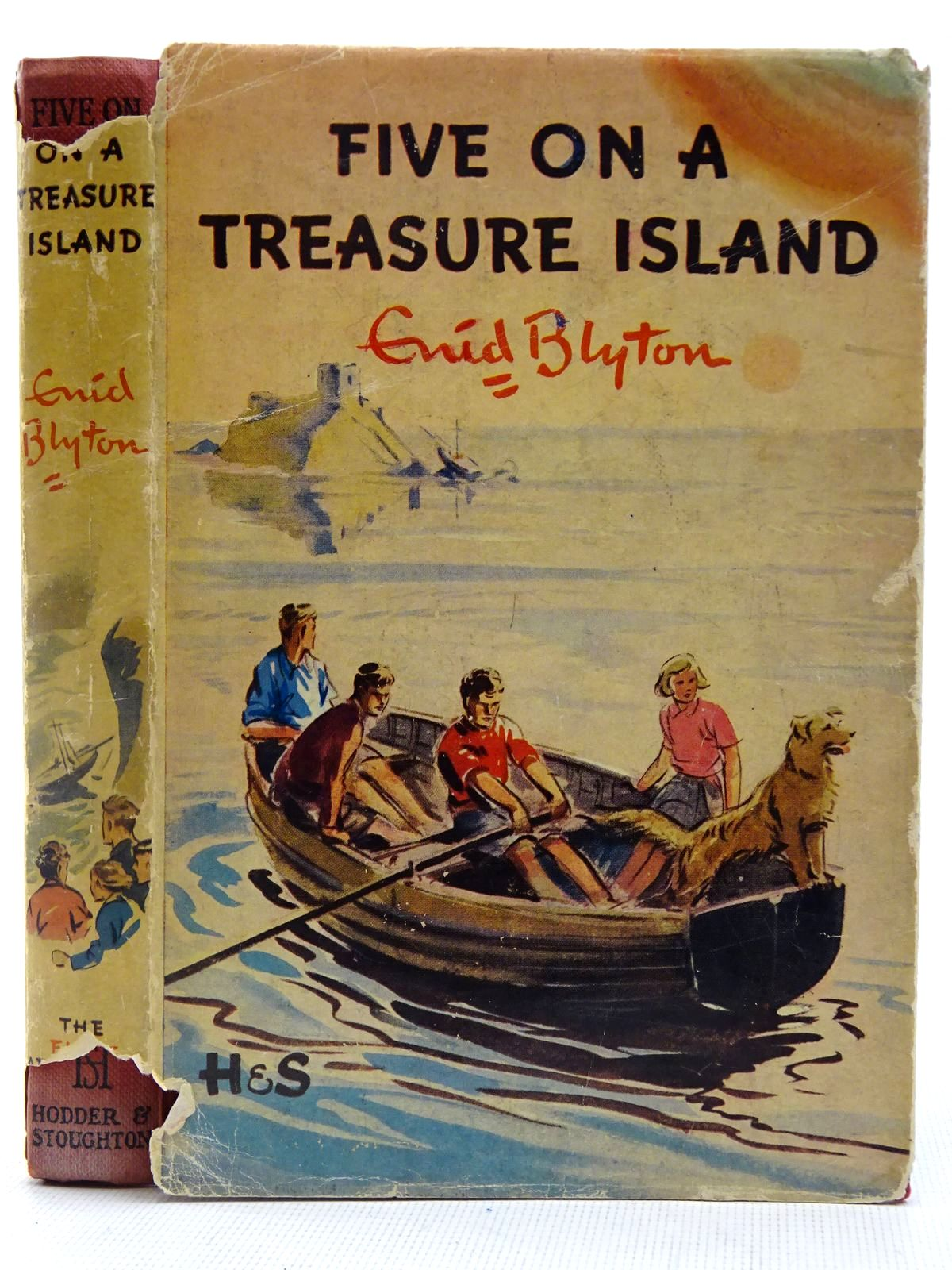 Photo of FIVE ON A TREASURE ISLAND written by Blyton, Enid illustrated by Soper, Eileen published by Hodder & Stoughton (STOCK CODE: 2128186)  for sale by Stella & Rose's Books