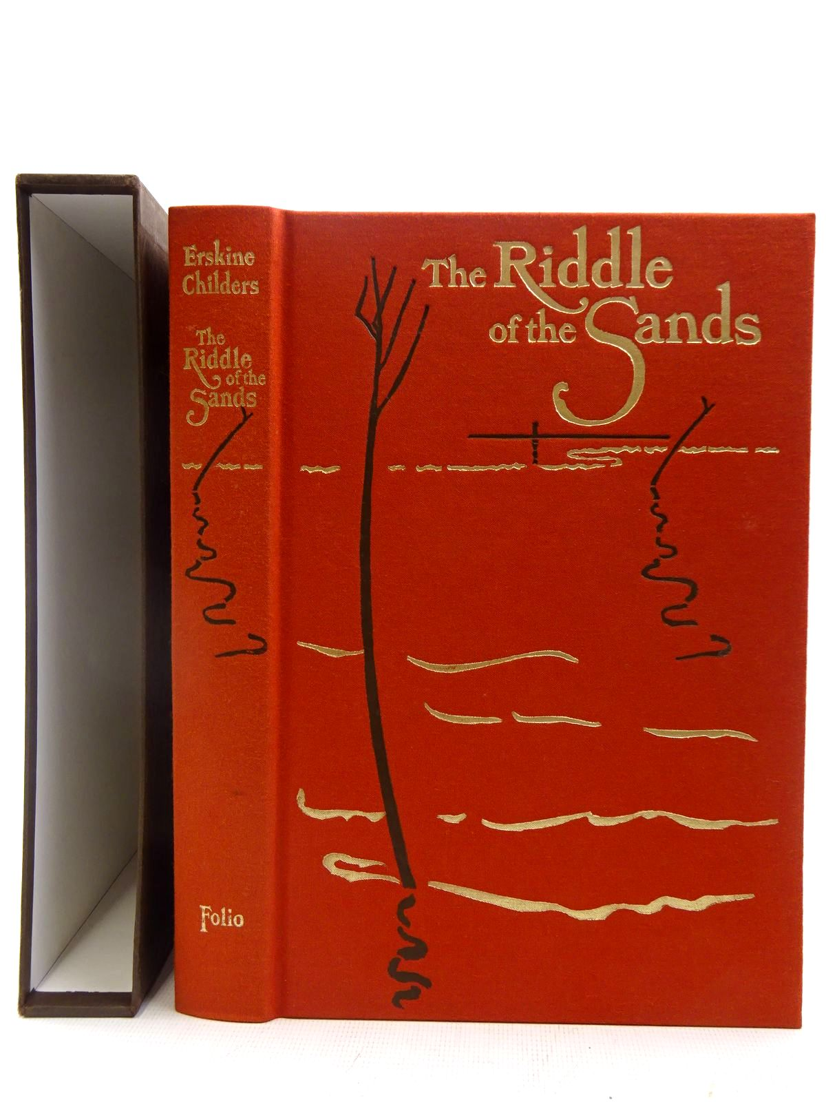 Photo of THE RIDDLE OF THE SANDS written by Childers, Erskine illustrated by Whistler, Daniel published by Folio Society (STOCK CODE: 2128190)  for sale by Stella & Rose's Books