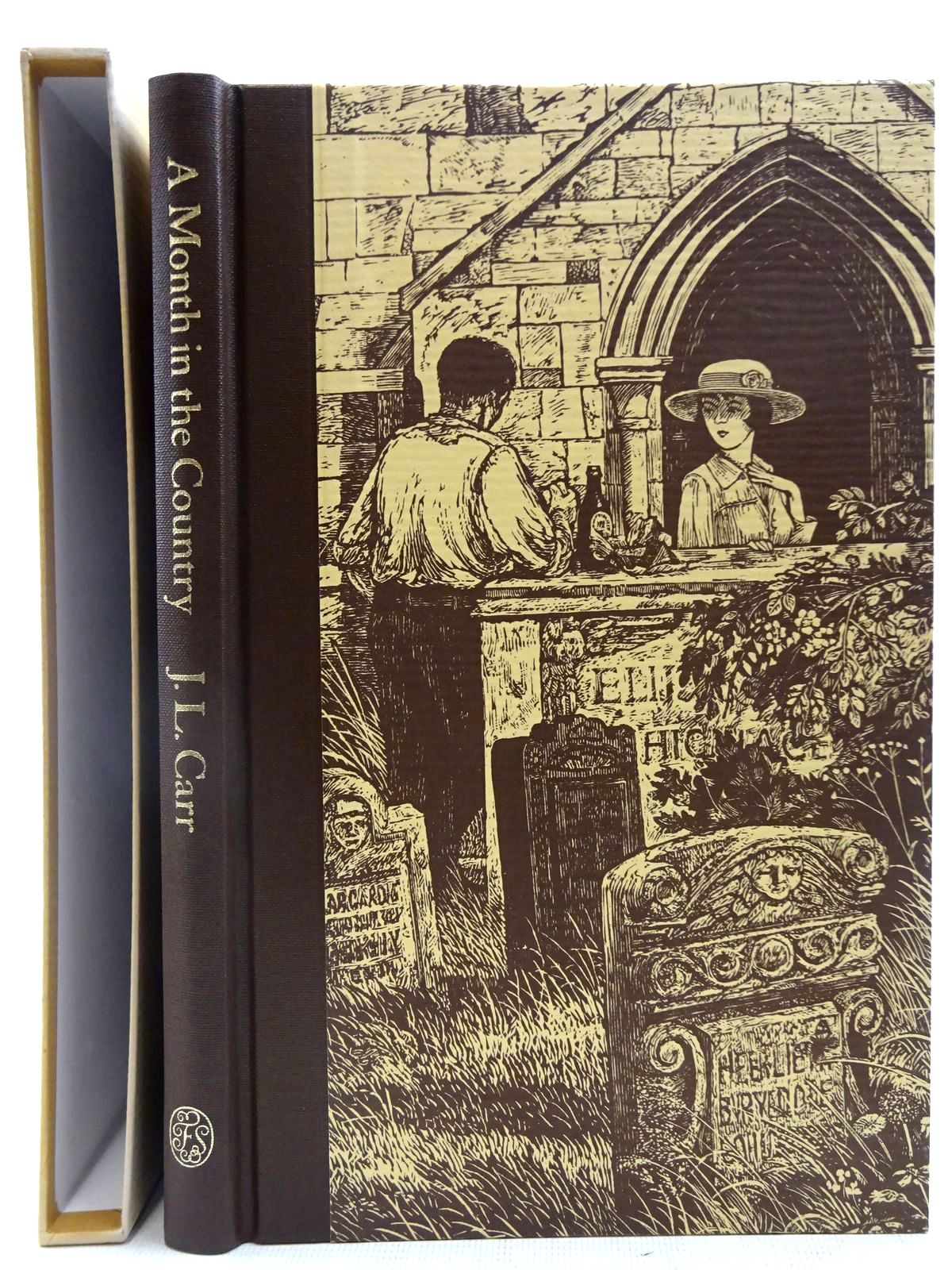 Photo of A MONTH IN THE COUNTRY written by Carr, J.L.<br />Blythe, Ronald illustrated by Stephens, Ian published by Folio Society (STOCK CODE: 2128191)  for sale by Stella & Rose's Books