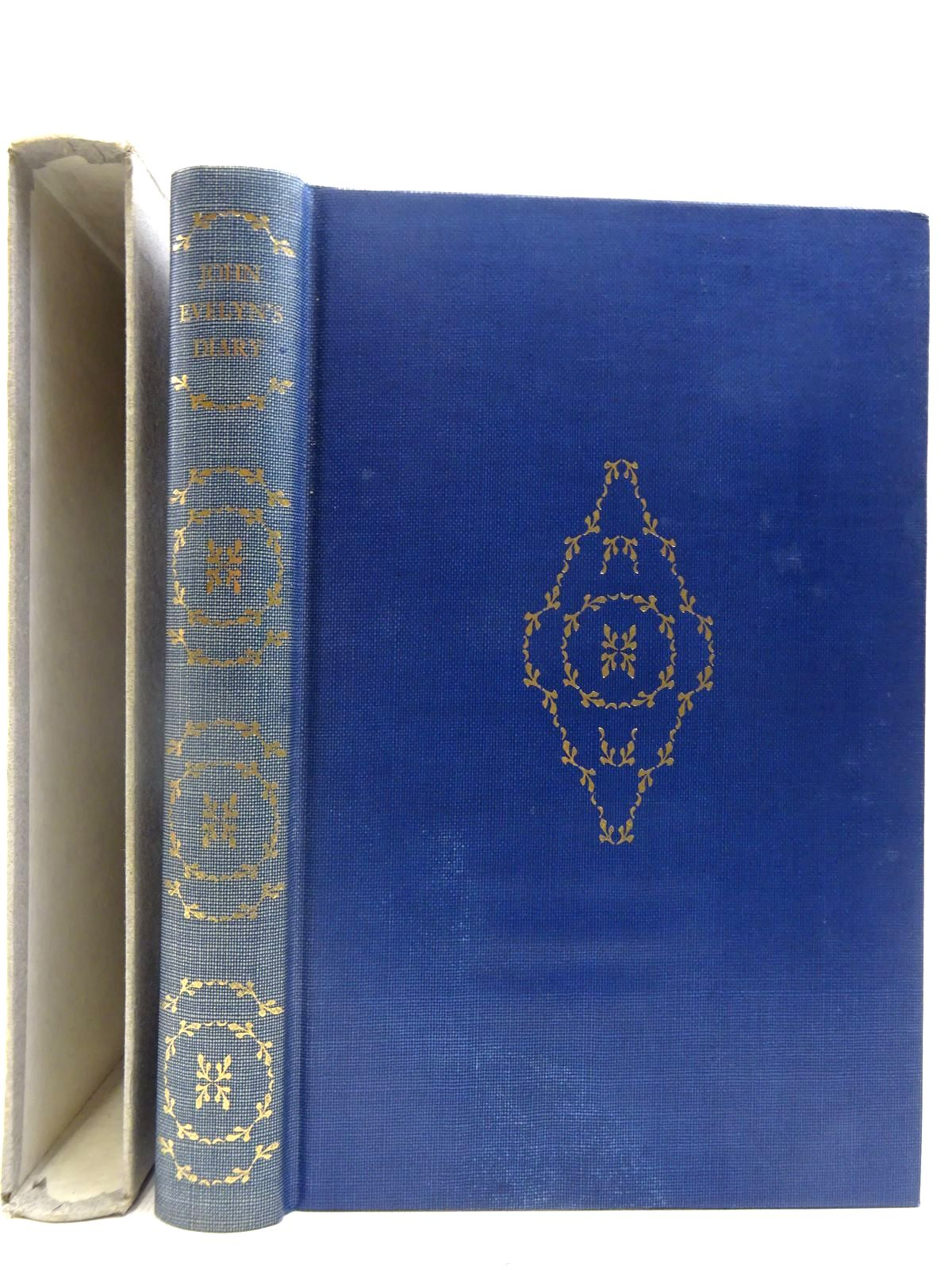 Photo of JOHN EVELYN'S DIARY written by Evelyn, John<br />Francis, Philip published by Folio Society (STOCK CODE: 2128202)  for sale by Stella & Rose's Books