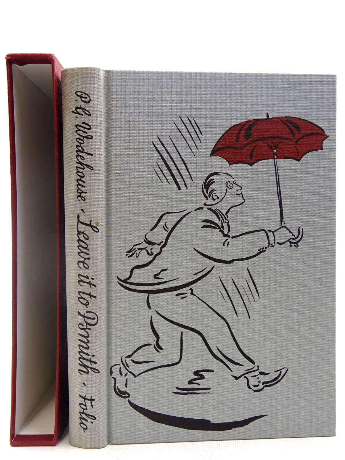 Photo of LEAVE IT TO PSMITH written by Wodehouse, P.G. illustrated by Cox, Paul published by Folio Society (STOCK CODE: 2128207)  for sale by Stella & Rose's Books
