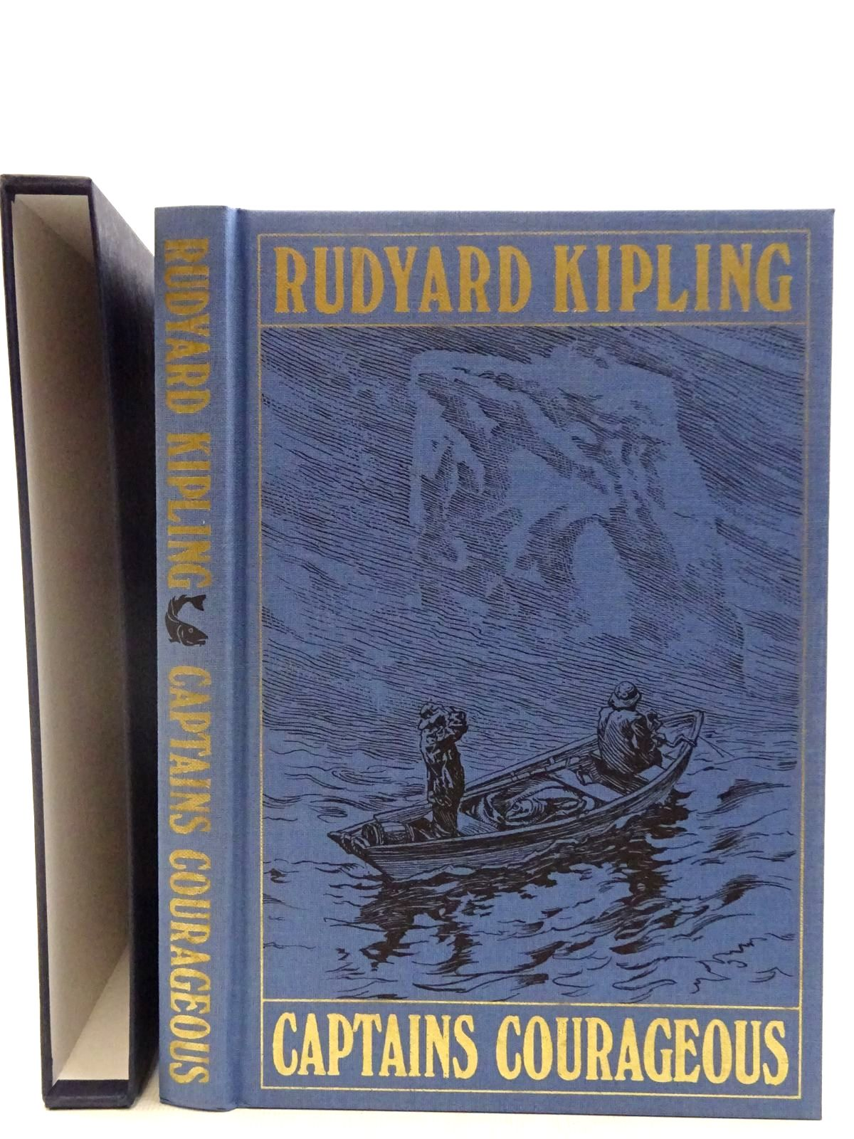 Photo of CAPTAINS COURAGEOUS A STORY OF THE GRAND BANKS written by Kipling, Rudyard illustrated by Taber, I.W. published by Folio Society (STOCK CODE: 2128209)  for sale by Stella & Rose's Books