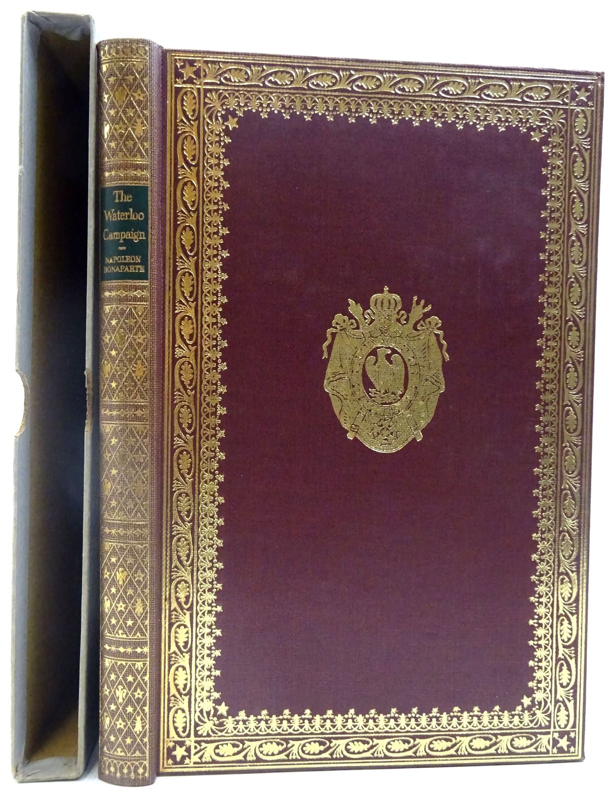 Photo of THE WATERLOO CAMPAIGN written by Bonaparte, Napoleon published by Folio Society (STOCK CODE: 2128211)  for sale by Stella & Rose's Books