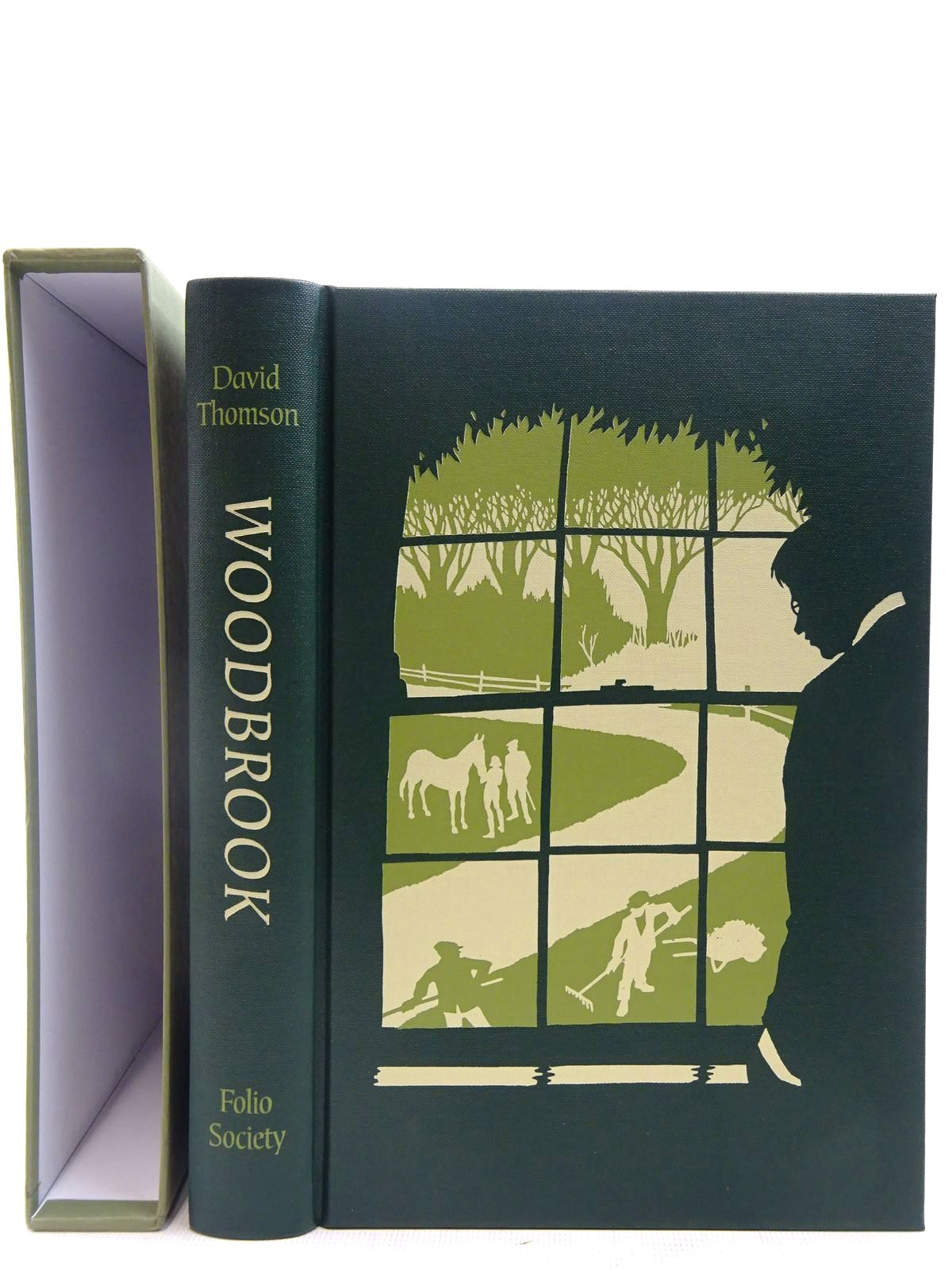 Photo of WOODBROOK written by Thomson, David<br />Keane, Fergal published by Folio Society (STOCK CODE: 2128213)  for sale by Stella & Rose's Books