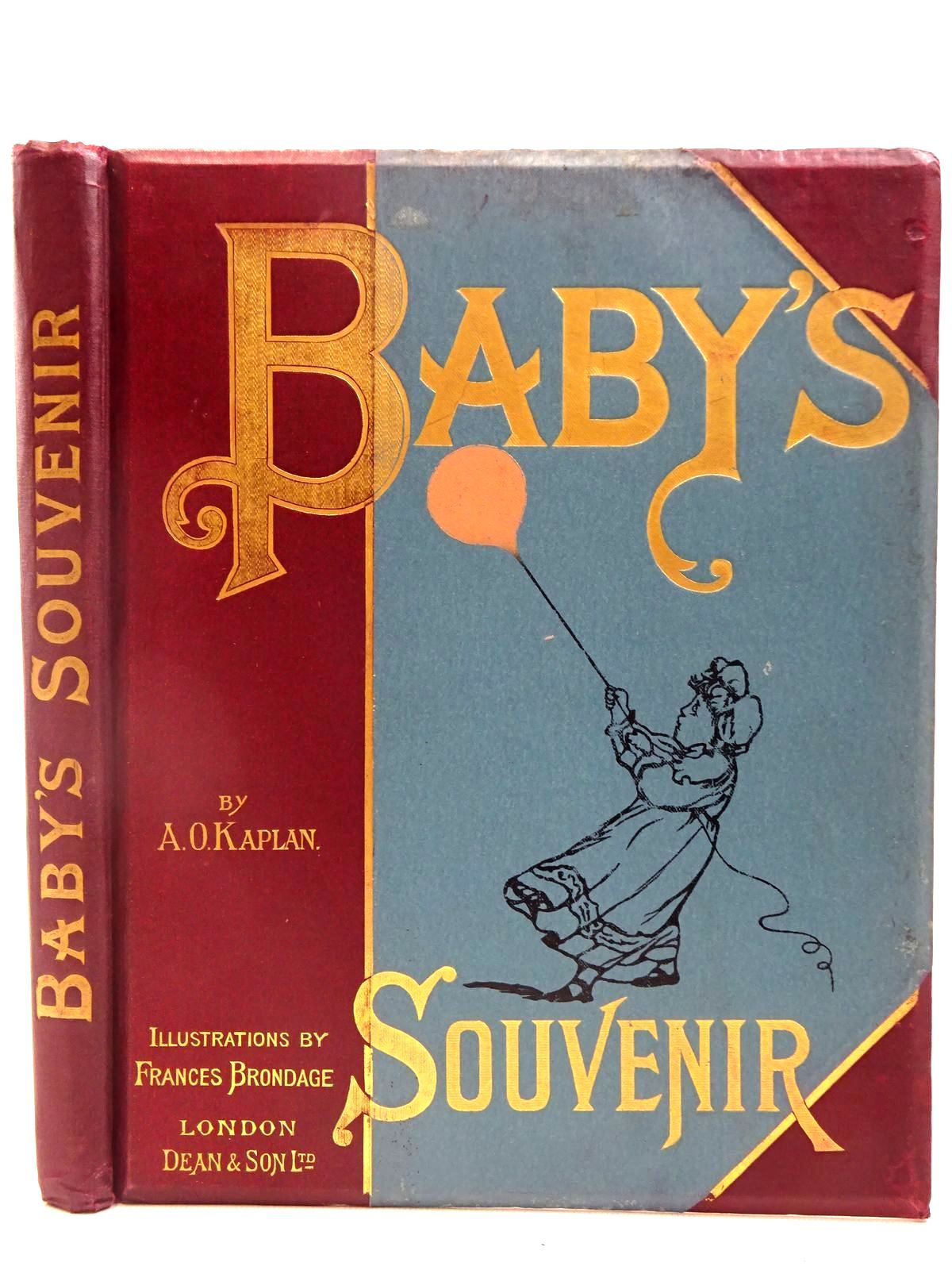 Photo of BABY'S SOUVENIR written by Kaplan, A.O. illustrated by Brundage, Frances published by Dean & Son Ltd. (STOCK CODE: 2128230)  for sale by Stella & Rose's Books