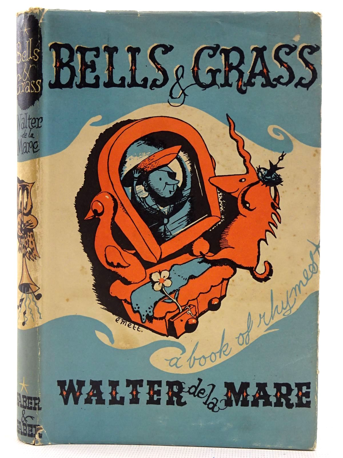 Photo of BELLS & GRASS written by De La Mare, Walter illustrated by Emett, Rowland published by Faber & Faber Ltd. (STOCK CODE: 2128249)  for sale by Stella & Rose's Books