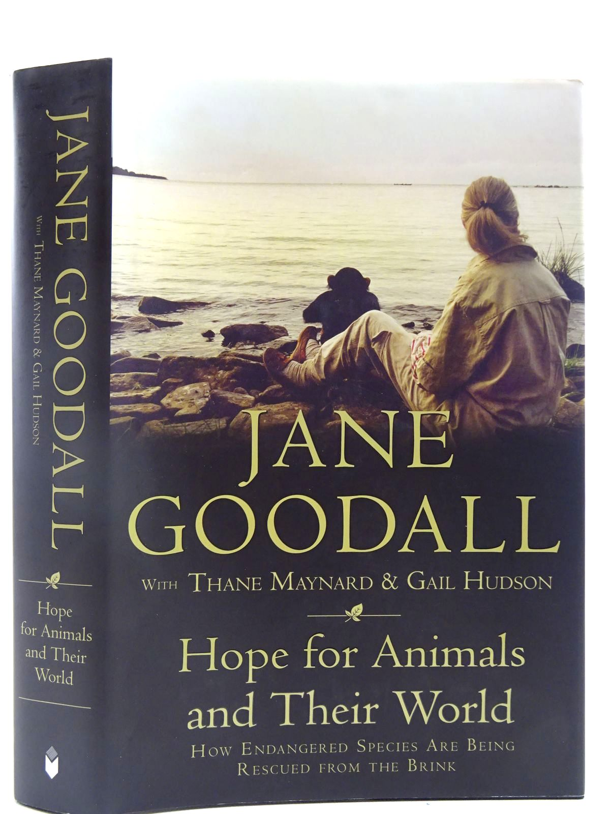 Photo of HOPE FOR ANIMALS AND THEIR WORLD written by Goodall, Jane<br />Maynard, Thane<br />Hudson, Gail published by Icon Books (STOCK CODE: 2128281)  for sale by Stella & Rose's Books