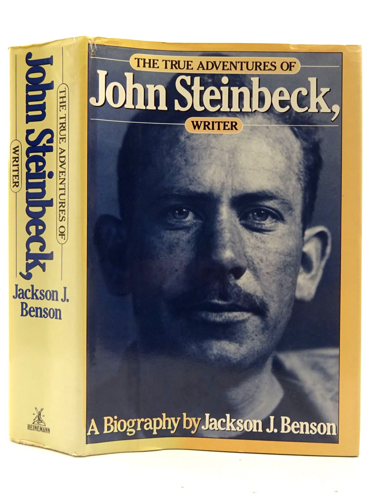 Photo of THE TRUE ADVENTURES OF JOHN STEINBECK, WRITER written by Benson, Jackson J. published by Heinemann (STOCK CODE: 2128282)  for sale by Stella & Rose's Books