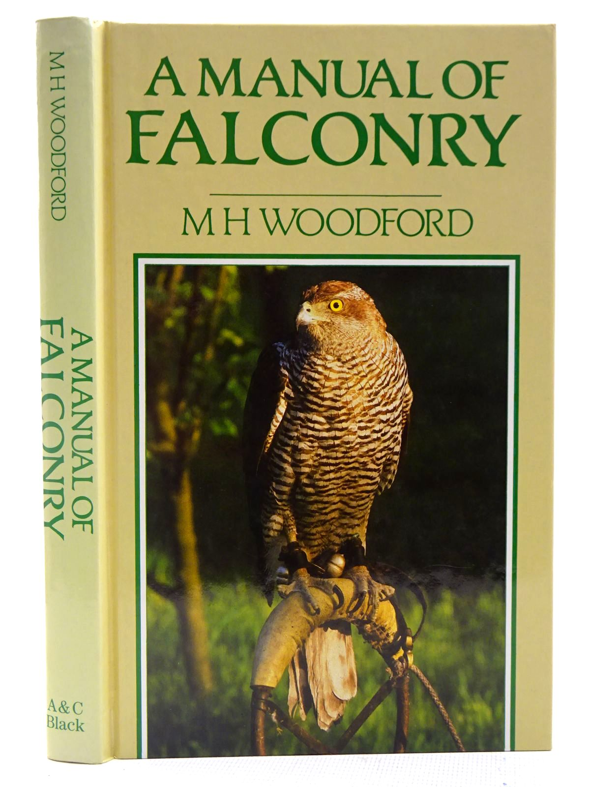 Photo of A MANUAL OF FALCONRY written by Woodford, Michael published by Adam & Charles Black (STOCK CODE: 2128288)  for sale by Stella & Rose's Books