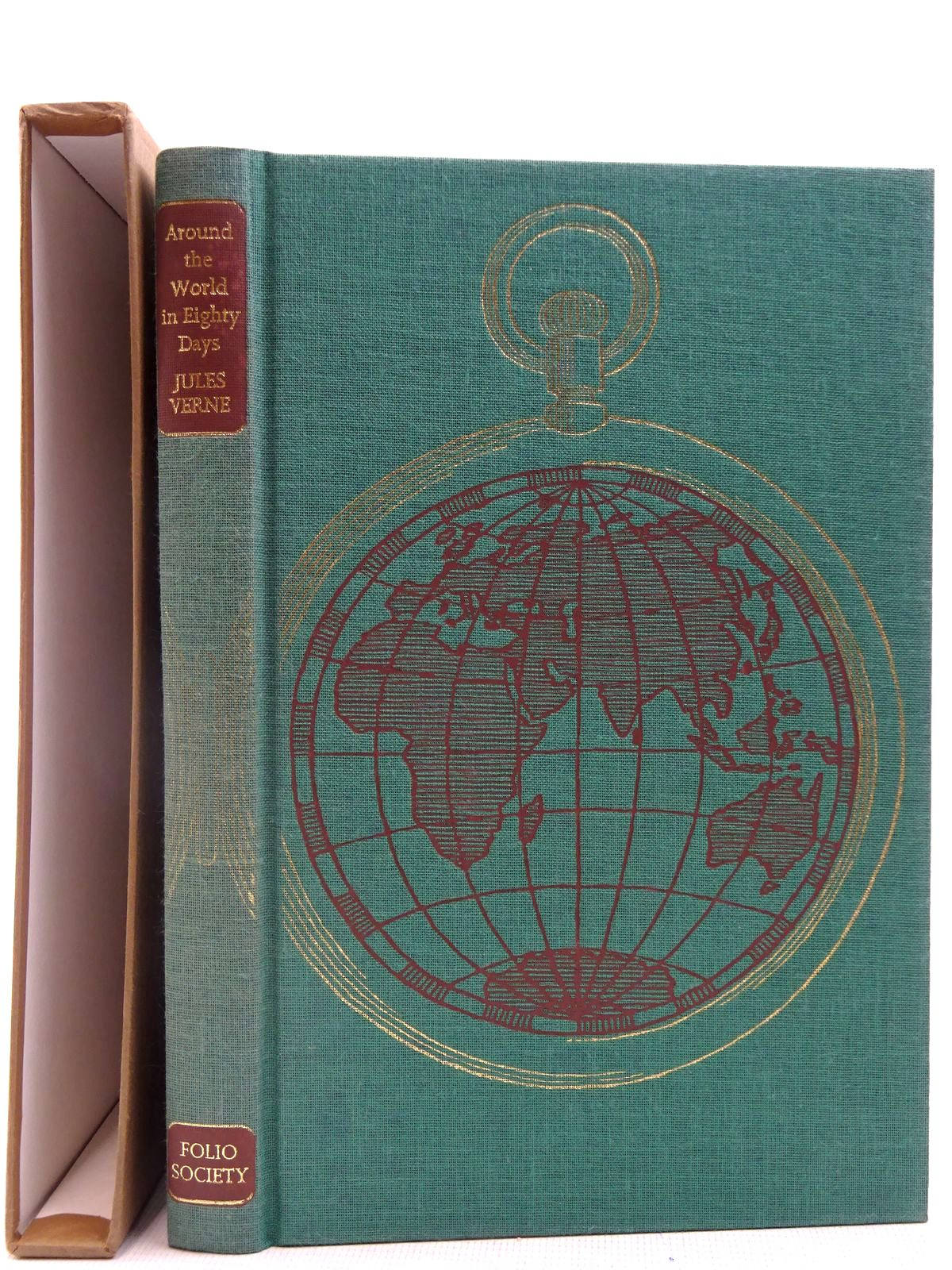 Photo of AROUND THE WORLD IN EIGHTY DAYS written by Verne, Jules illustrated by Brookes, Peter published by Folio Society (STOCK CODE: 2128319)  for sale by Stella & Rose's Books