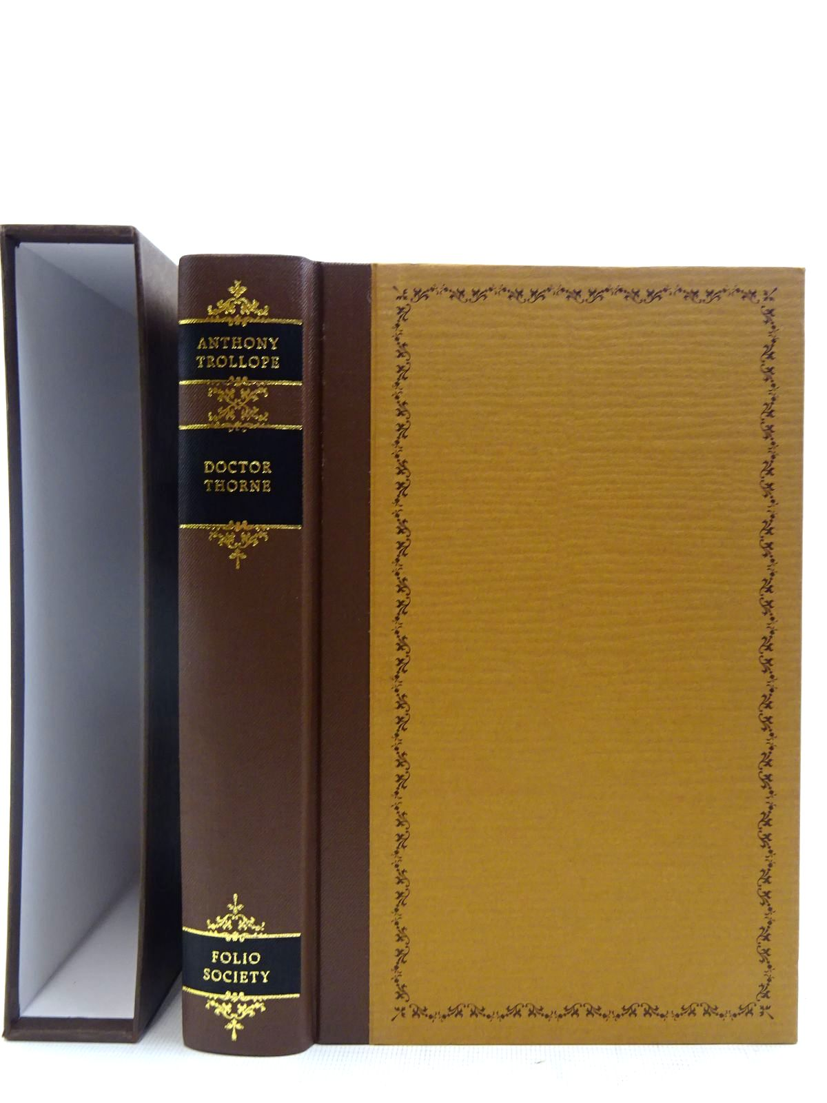 Photo of DOCTOR THORNE written by Trollope, Anthony illustrated by Pendle, Alexy published by Folio Society (STOCK CODE: 2128320)  for sale by Stella & Rose's Books
