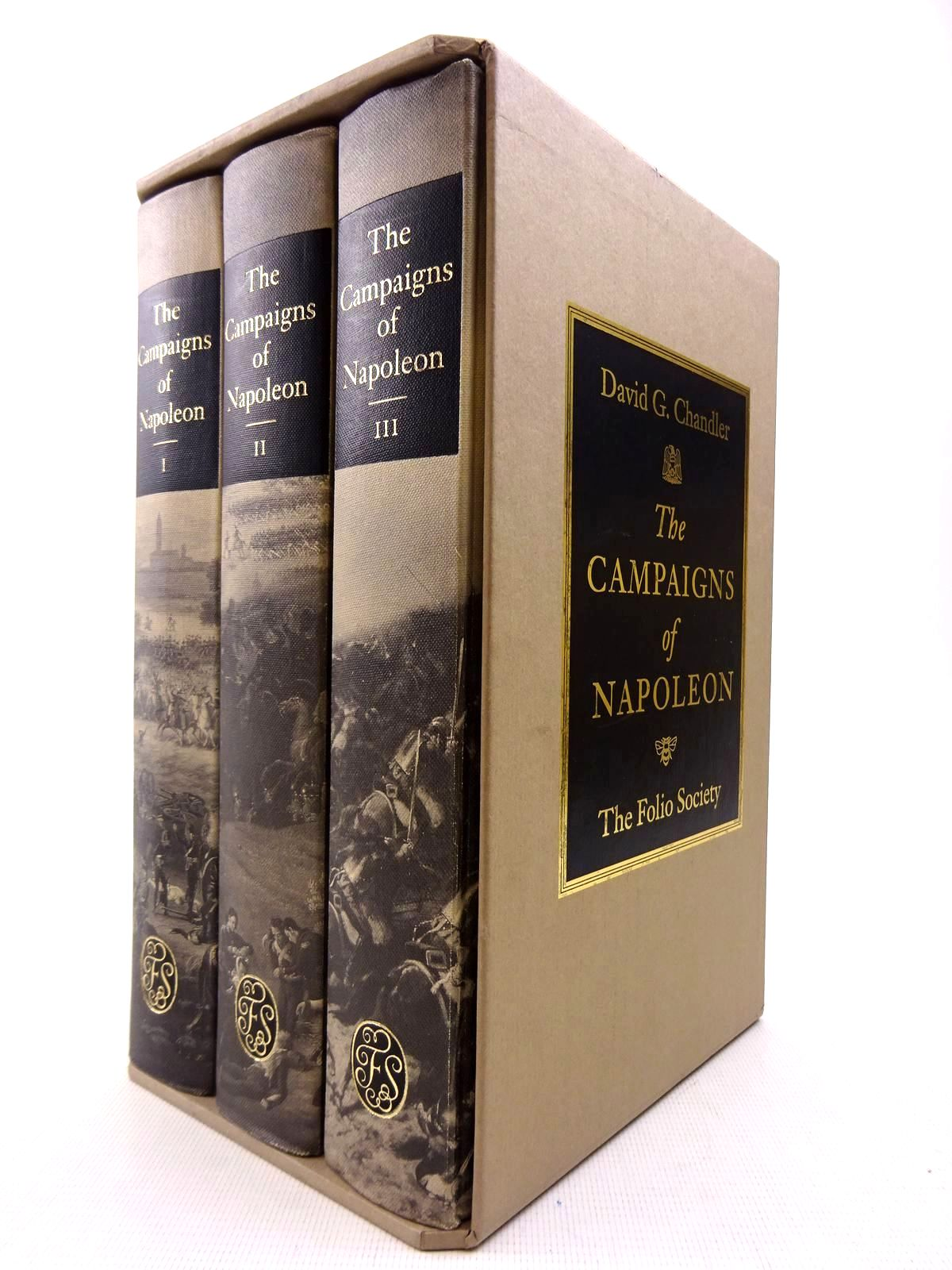 Photo of THE CAMPAIGNS OF NAPOLEON (3 VOLUMES) written by Chandler, David G. published by Folio Society (STOCK CODE: 2128322)  for sale by Stella & Rose's Books