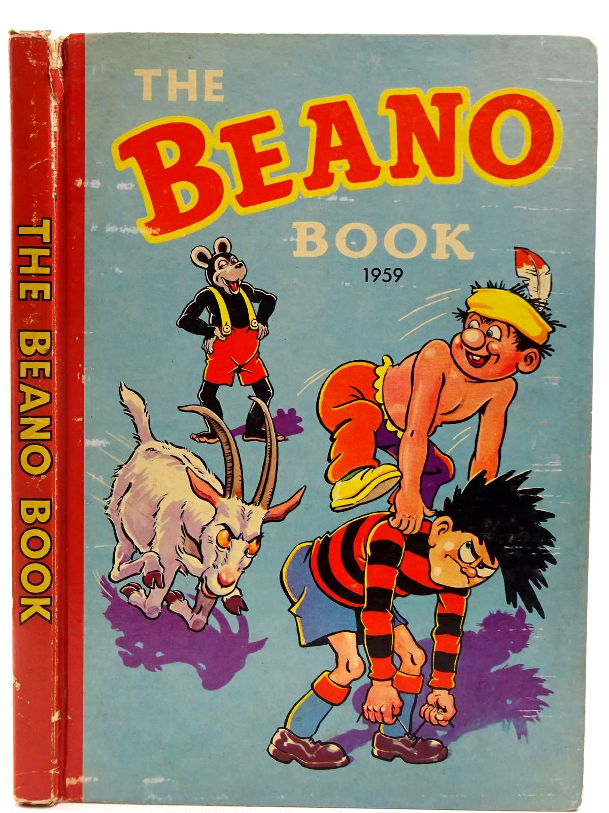 Photo of THE BEANO BOOK 1959 published by D.C. Thomson & Co Ltd. (STOCK CODE: 2128329)  for sale by Stella & Rose's Books