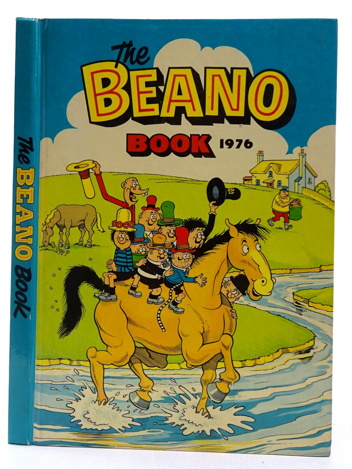 Photo of THE BEANO BOOK 1976 published by D.C. Thomson & Co Ltd. (STOCK CODE: 2128358)  for sale by Stella & Rose's Books
