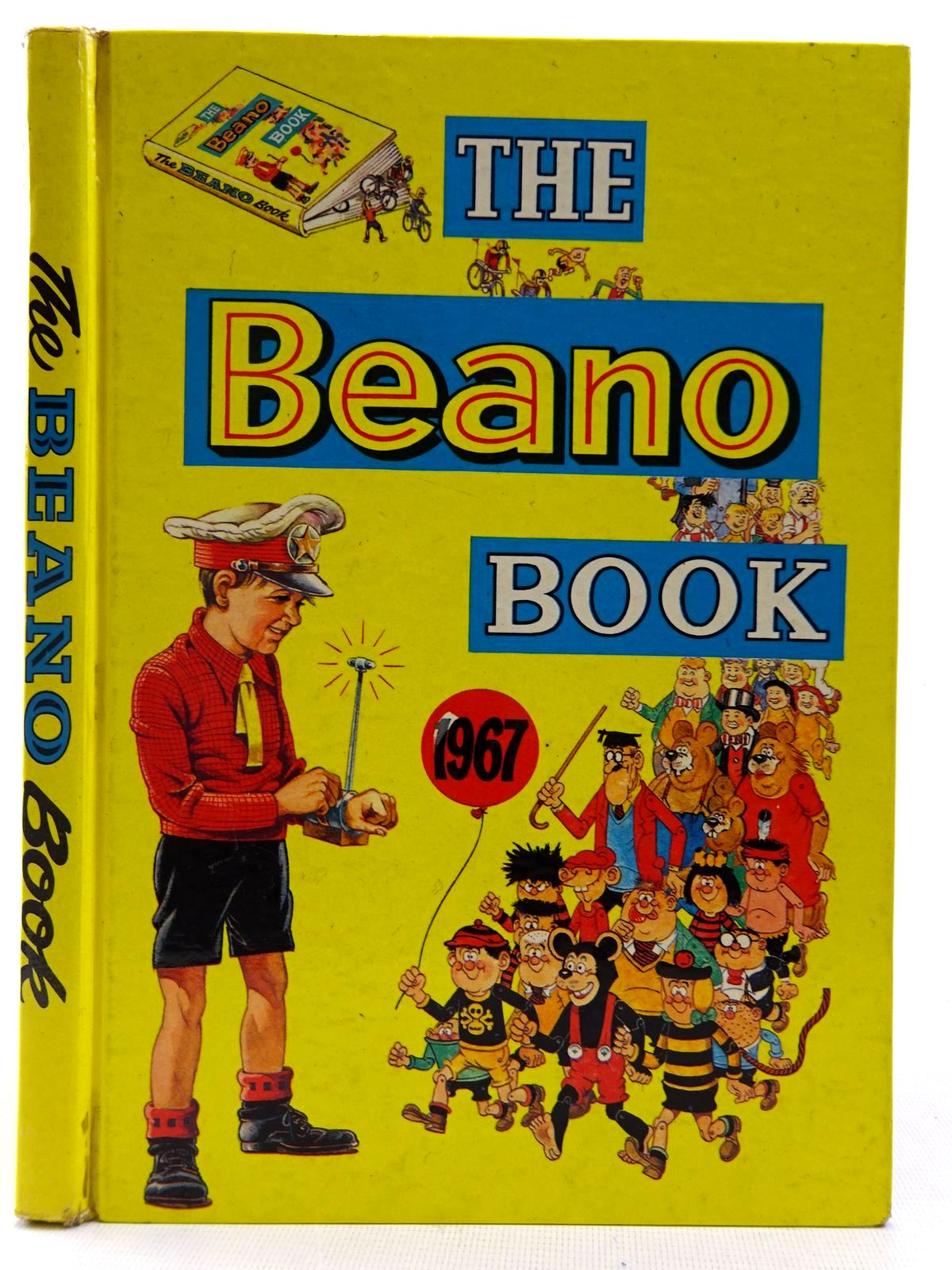 Photo of THE BEANO BOOK 1967 published by D.C. Thomson & Co Ltd. (STOCK CODE: 2128374)  for sale by Stella & Rose's Books