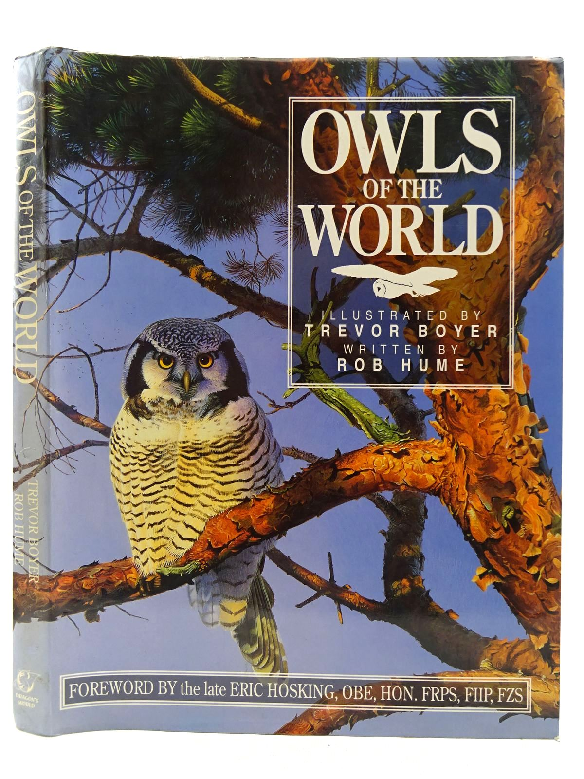 Photo of OWLS OF THE WORLD written by Hume, Rob illustrated by Boyer, Trevor published by Dragon's World (STOCK CODE: 2128399)  for sale by Stella & Rose's Books