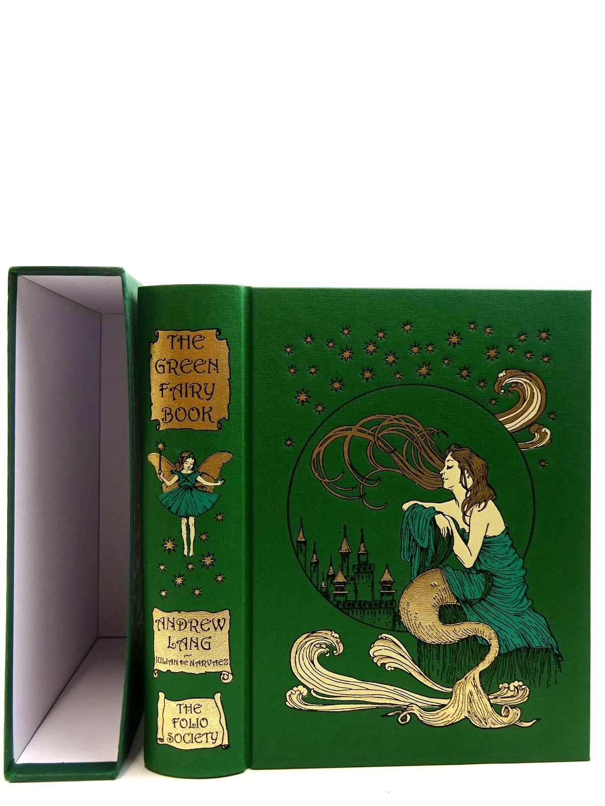 Photo of THE GREEN FAIRY BOOK written by Lang, Andrew illustrated by De Harvaez, Julian published by Folio Society (STOCK CODE: 2128414)  for sale by Stella & Rose's Books