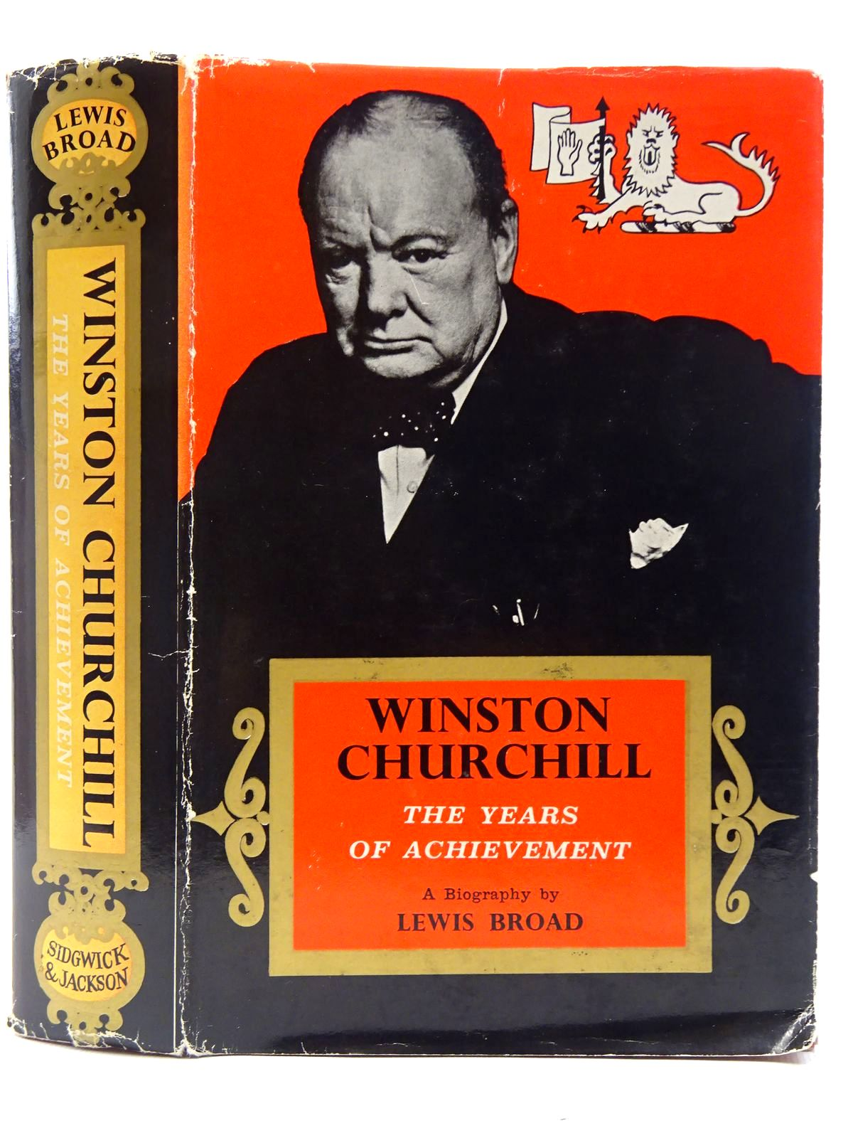 Photo of WINSTON CHURCHILL THE YEARS OF ACHIEVEMENT written by Broad, Lewis published by Sidgwick & Jackson (STOCK CODE: 2128431)  for sale by Stella & Rose's Books