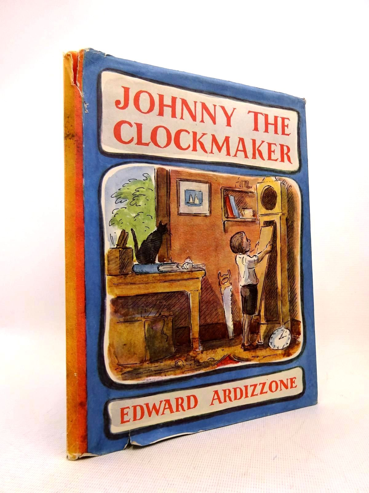 Photo of JOHNNY THE CLOCKMAKER written by Ardizzone, Edward illustrated by Ardizzone, Edward published by Oxford University Press (STOCK CODE: 2128450)  for sale by Stella & Rose's Books