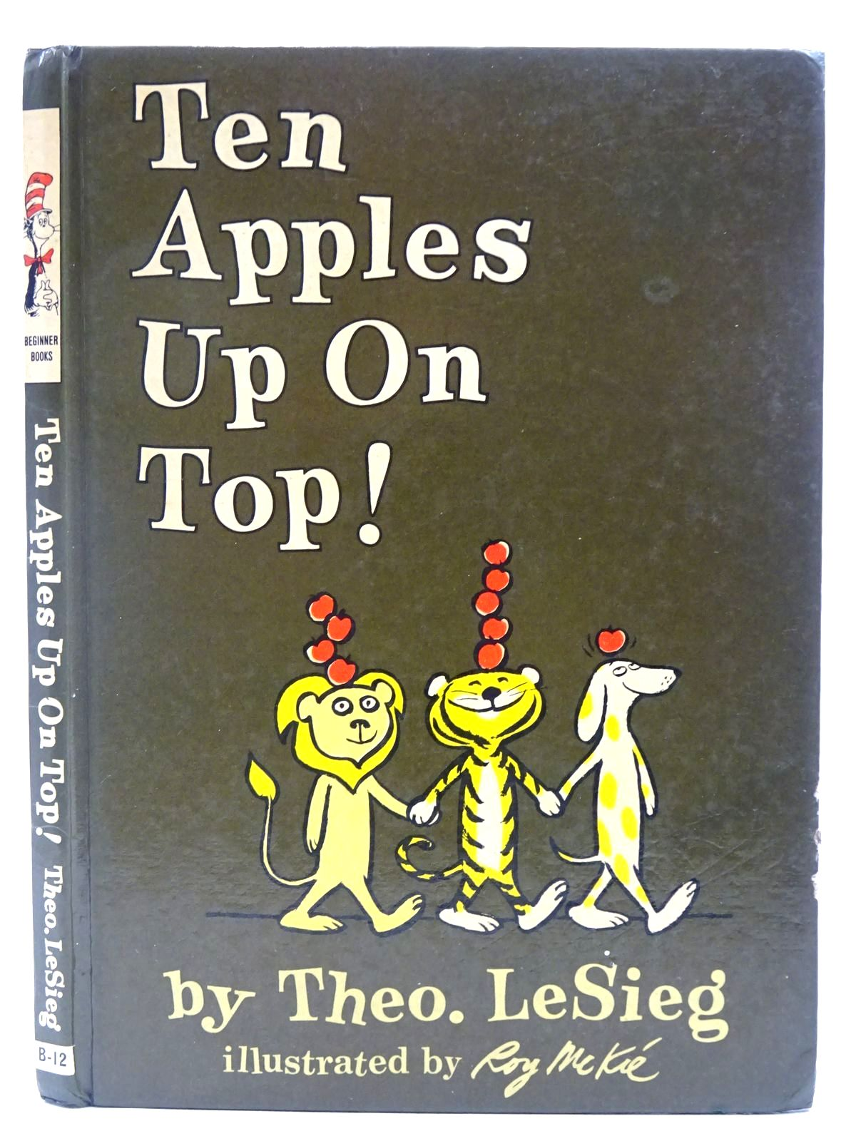 Photo of TEN APPLES UP ON TOP written by LeSieg, Theo<br />Seuss, Dr. illustrated by McKie, Roy published by Collins and Harvill (STOCK CODE: 2128489)  for sale by Stella & Rose's Books