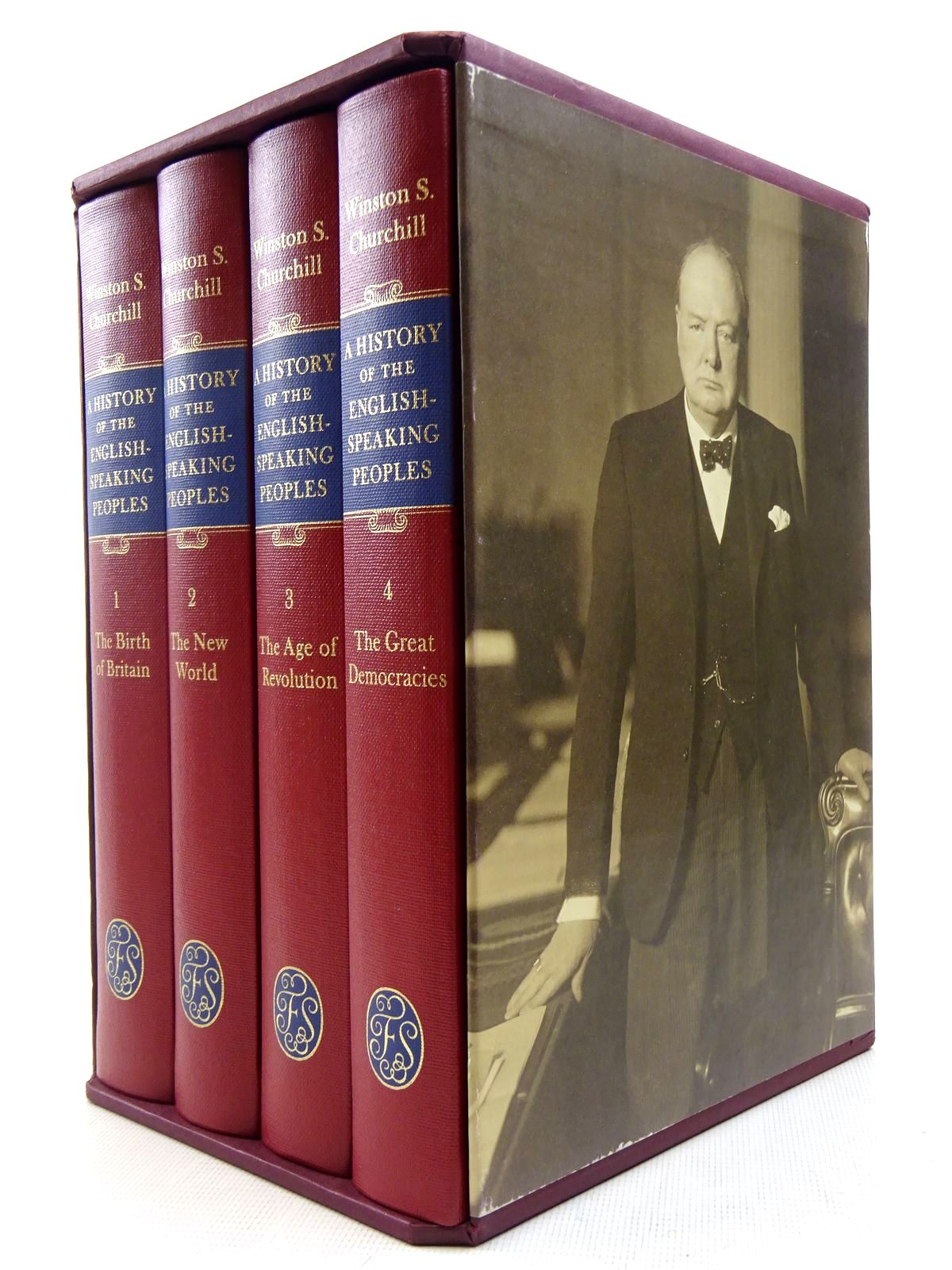 Photo of A HISTORY OF THE ENGLISH SPEAKING PEOPLES (4 VOLUMES) written by Churchill, Winston S. published by Folio Society (STOCK CODE: 2128498)  for sale by Stella & Rose's Books
