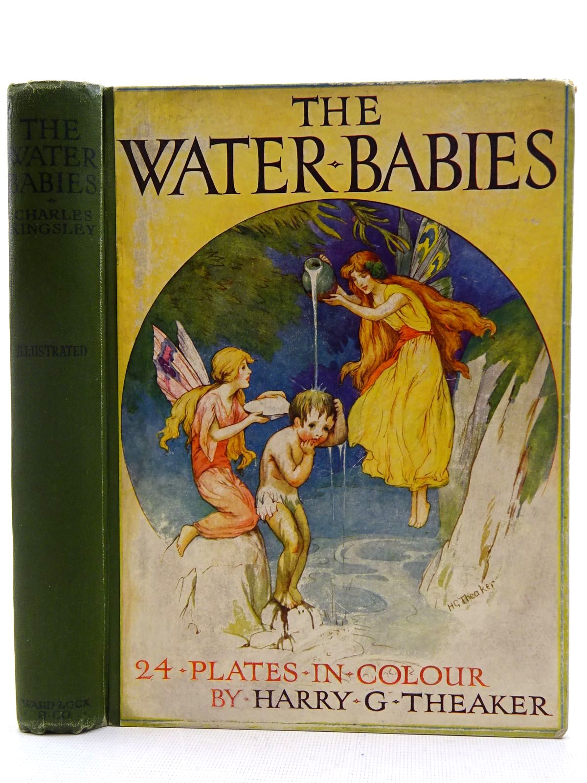 Photo of THE WATER BABIES written by Kingsley, Charles illustrated by Theaker, Harry G. published by Ward, Lock & Co. Ltd. (STOCK CODE: 2128506)  for sale by Stella & Rose's Books