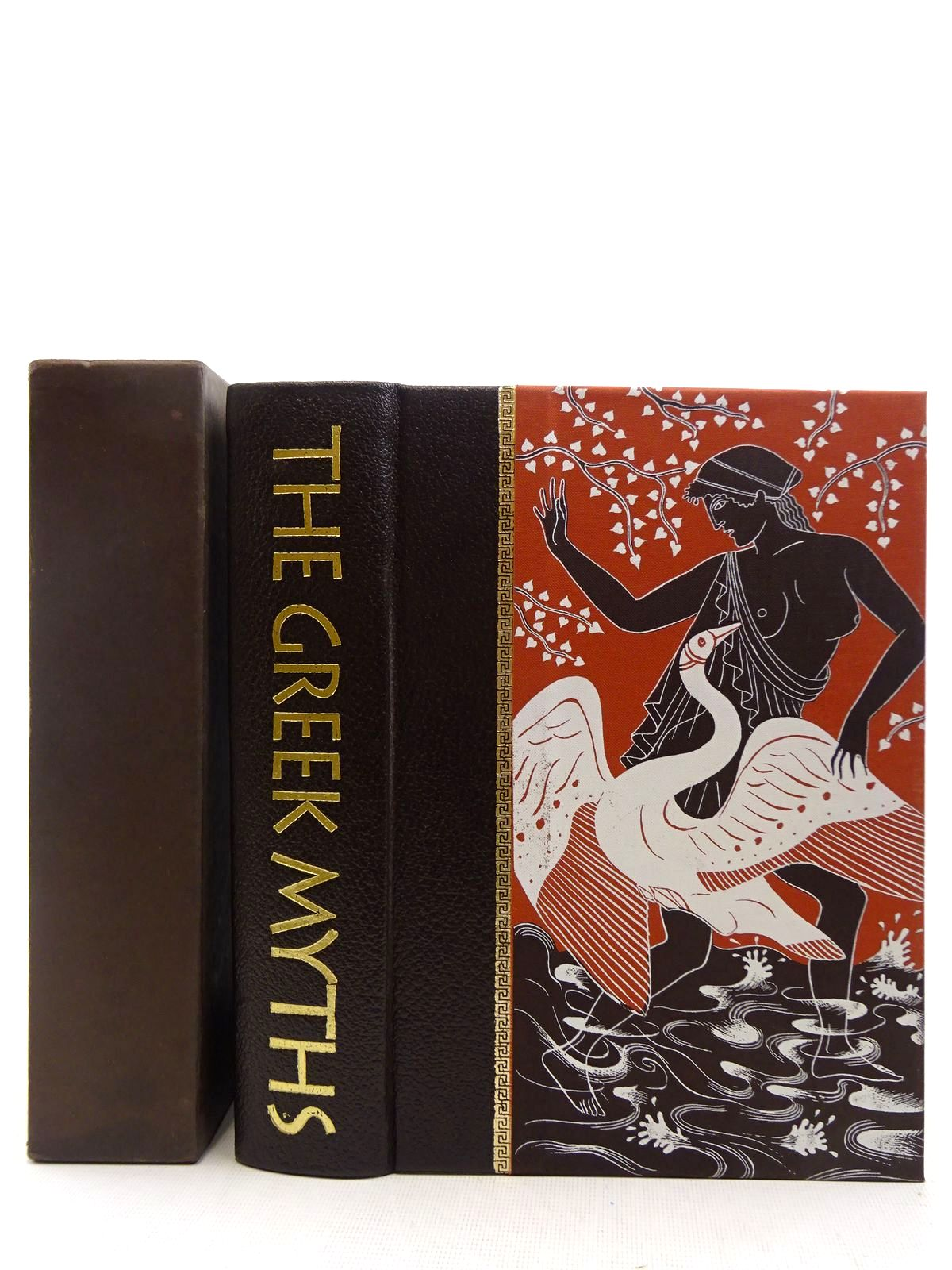 Photo of THE GREEK MYTHS written by Graves, Robert<br />Mcleish, Kenneth illustrated by Baker, Grahame published by Folio Society (STOCK CODE: 2128529)  for sale by Stella & Rose's Books