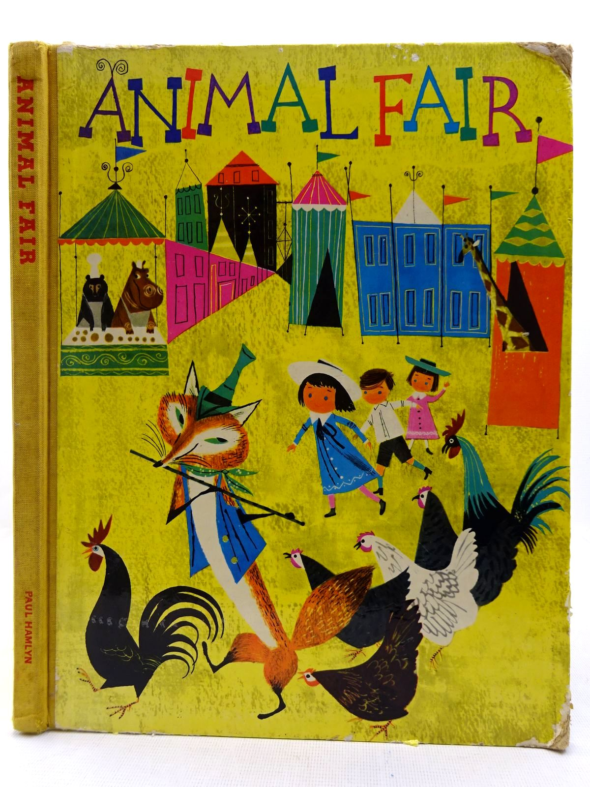 Photo of ANIMAL FAIR written by Provensen, Alice<br />Provensen, Martin illustrated by Provensen, Alice<br />Provensen, Martin published by Paul Hamlyn (STOCK CODE: 2128544)  for sale by Stella & Rose's Books