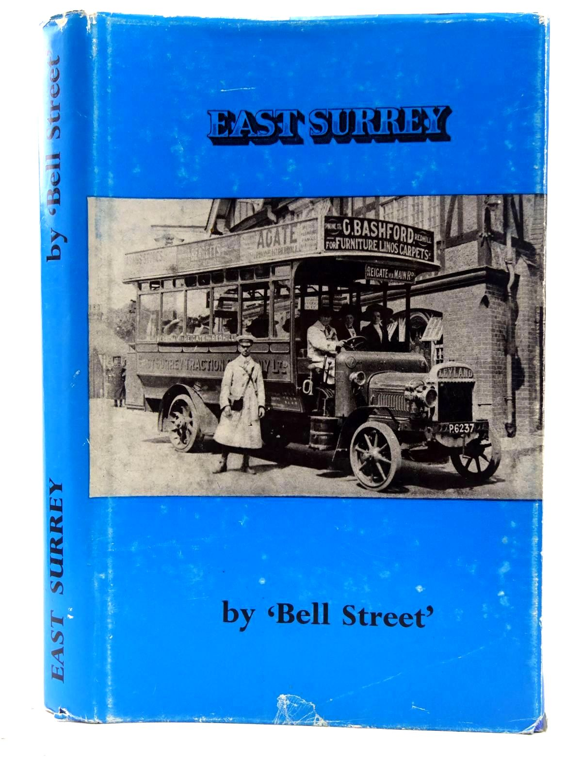 Photo of EAST SURREY written by Street, Bell published by H.J. Publications (STOCK CODE: 2128567)  for sale by Stella & Rose's Books