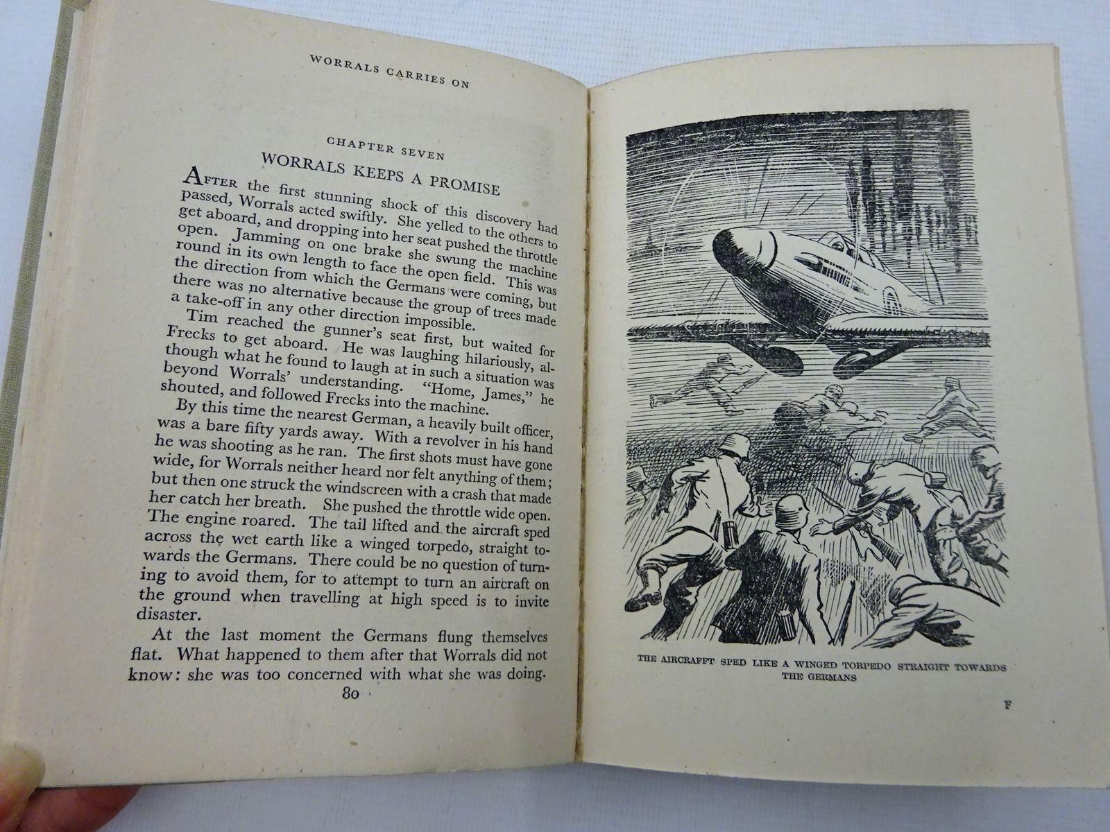 Photo of WORRALS CARRIES ON written by Johns, W.E. published by Lutterworth Press (STOCK CODE: 2128584)  for sale by Stella & Rose's Books