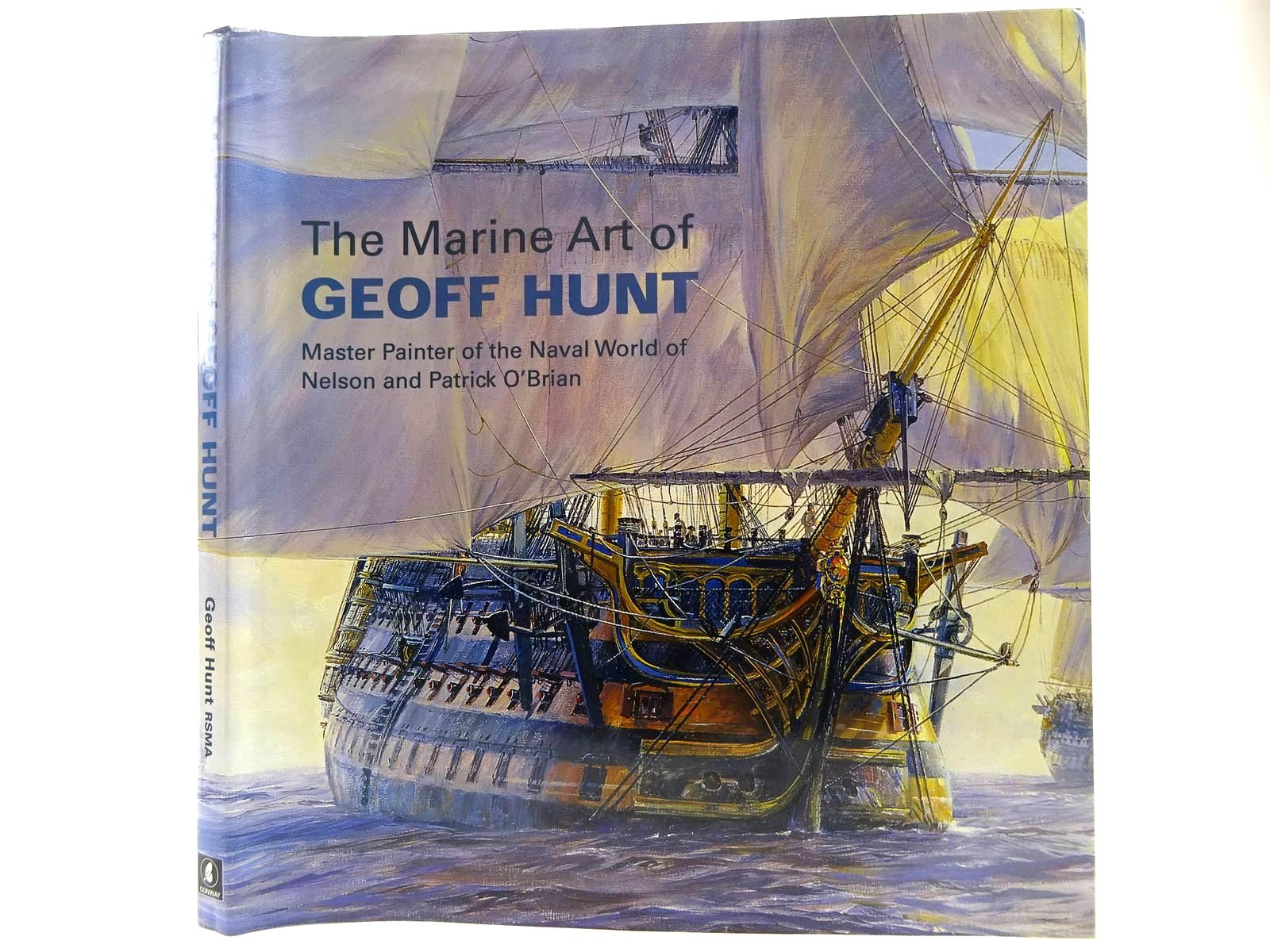 Photo of THE MARINE ART OF GEOFF HUNT written by Hunt, Geoff illustrated by Hunt, Geoff published by Conway Maritime Press (STOCK CODE: 2128590)  for sale by Stella & Rose's Books