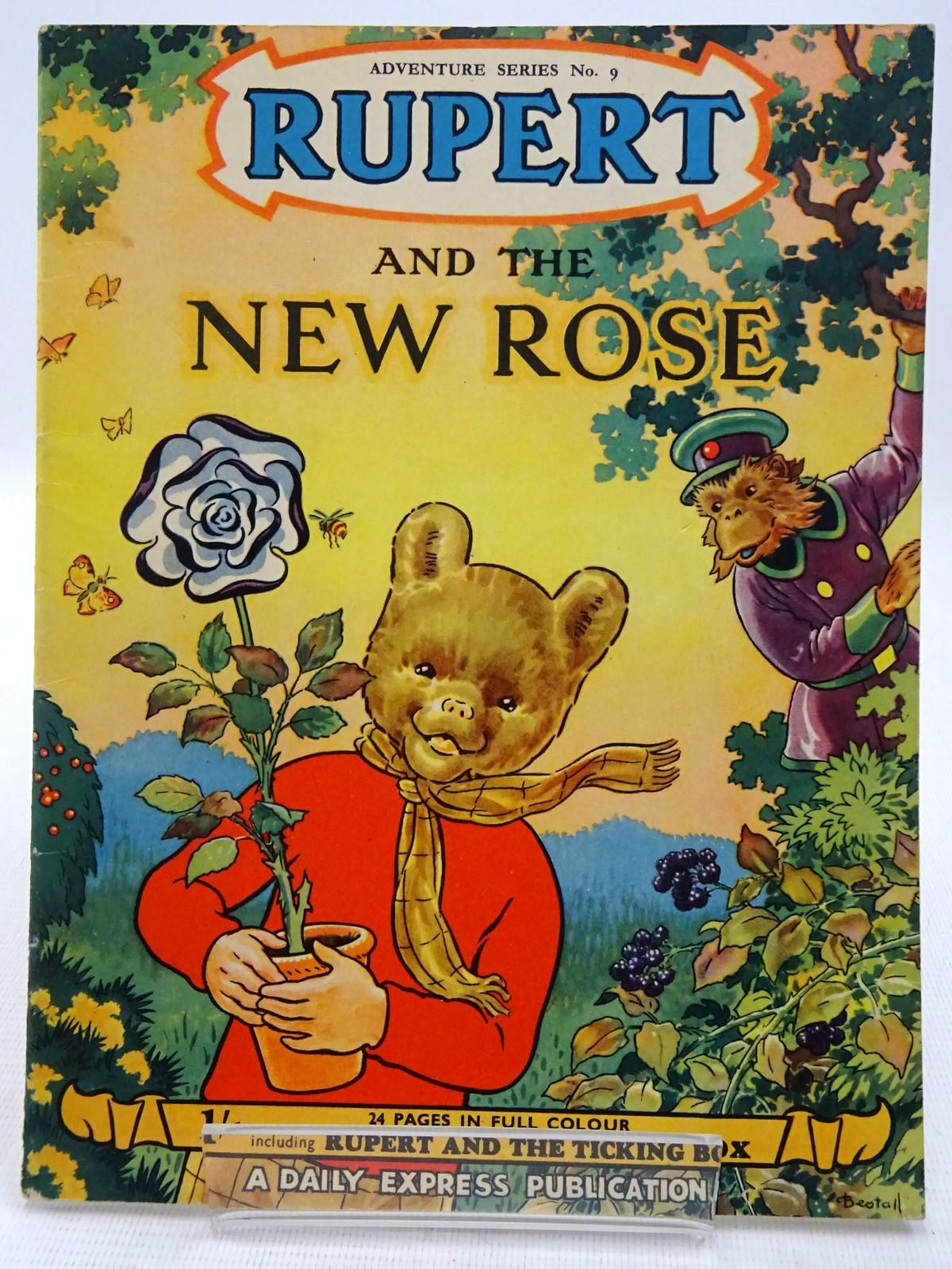 Photo of RUPERT ADVENTURE SERIES No. 9 - RUPERT AND THE NEW ROSE written by Bestall, Alfred illustrated by Bestall, Alfred published by Daily Express (STOCK CODE: 2128603)  for sale by Stella & Rose's Books