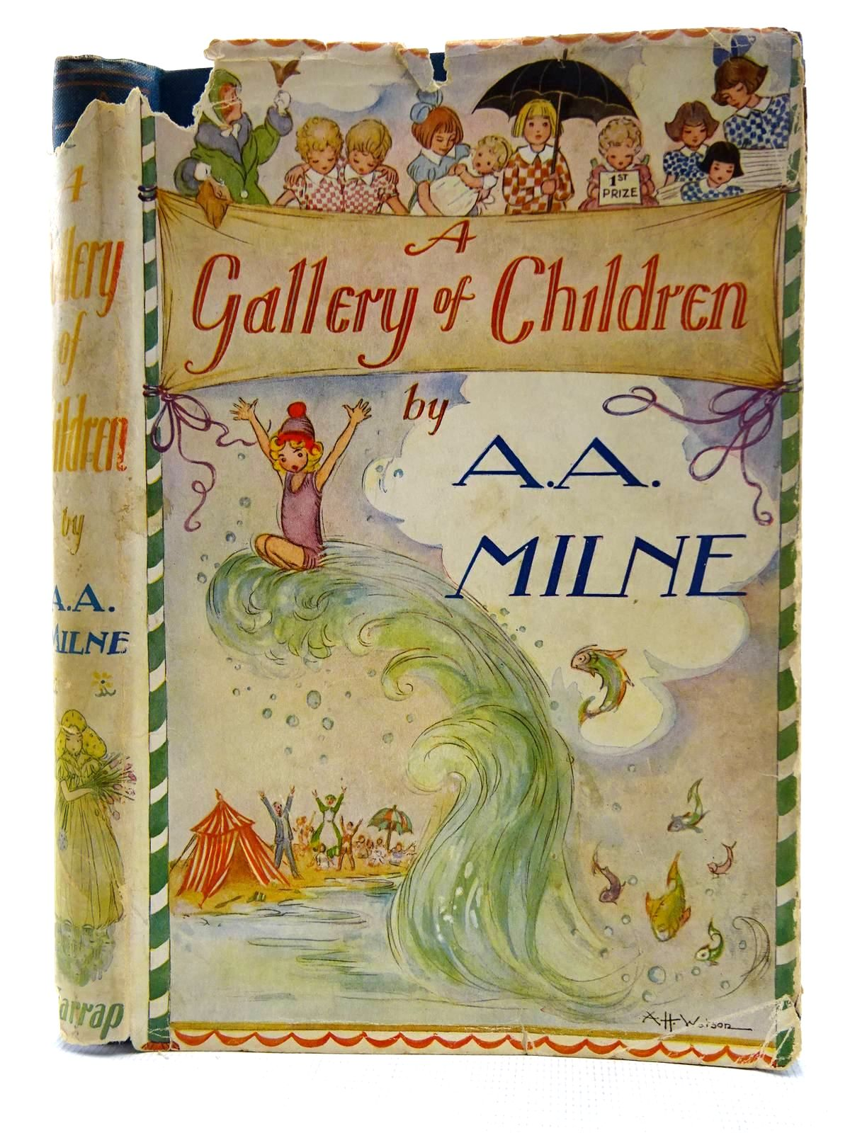 Photo of A GALLERY OF CHILDREN written by Milne, A.A. illustrated by Watson, A.H. published by George G. Harrap & Co. Ltd. (STOCK CODE: 2128607)  for sale by Stella & Rose's Books