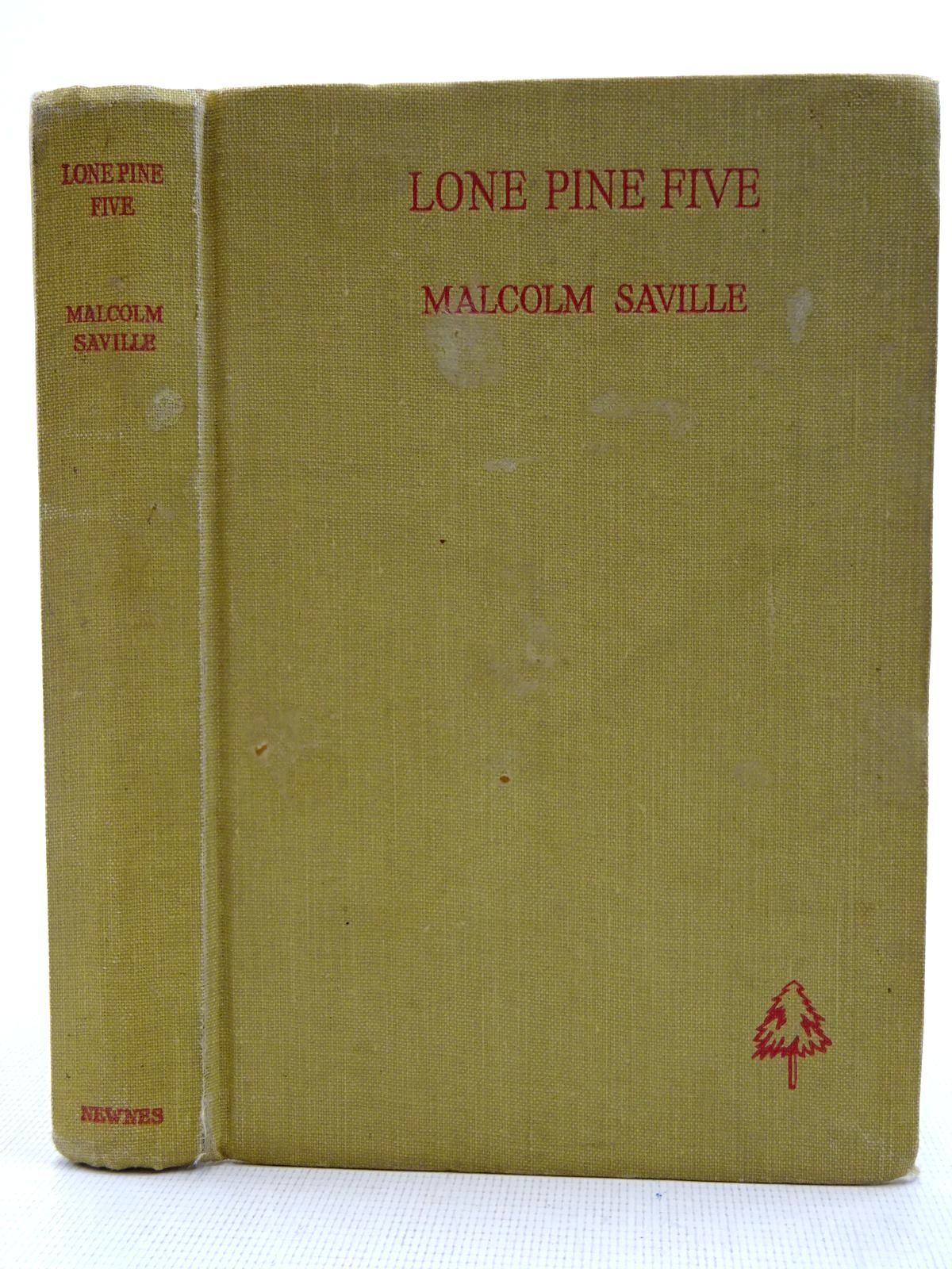 Photo of LONE PINE FIVE written by Saville, Malcolm illustrated by Prance, Bertram published by George Newnes Ltd. (STOCK CODE: 2128631)  for sale by Stella & Rose's Books