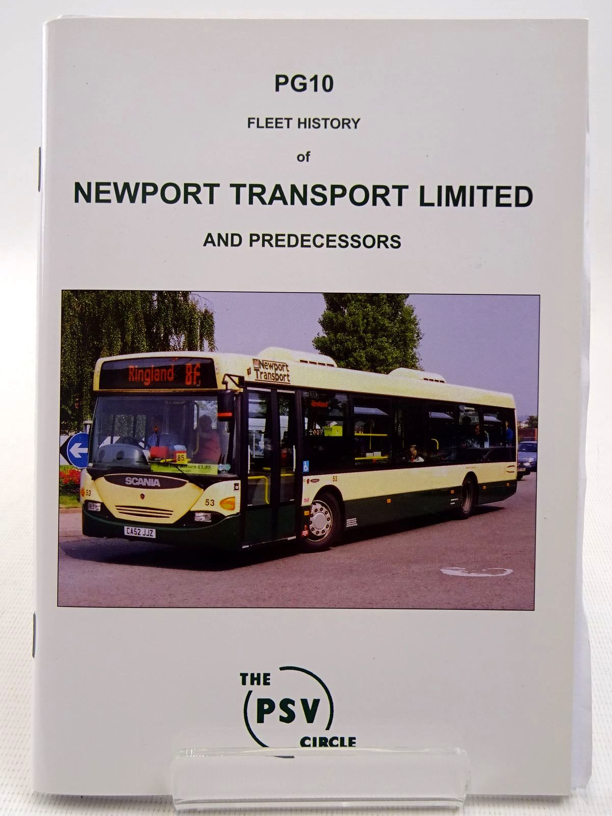 Photo of FLEET HISTORY OF NEWPORT TRANSPORT LIMITED AND PREDECESSORS published by The PSV Circle (STOCK CODE: 2128718)  for sale by Stella & Rose's Books