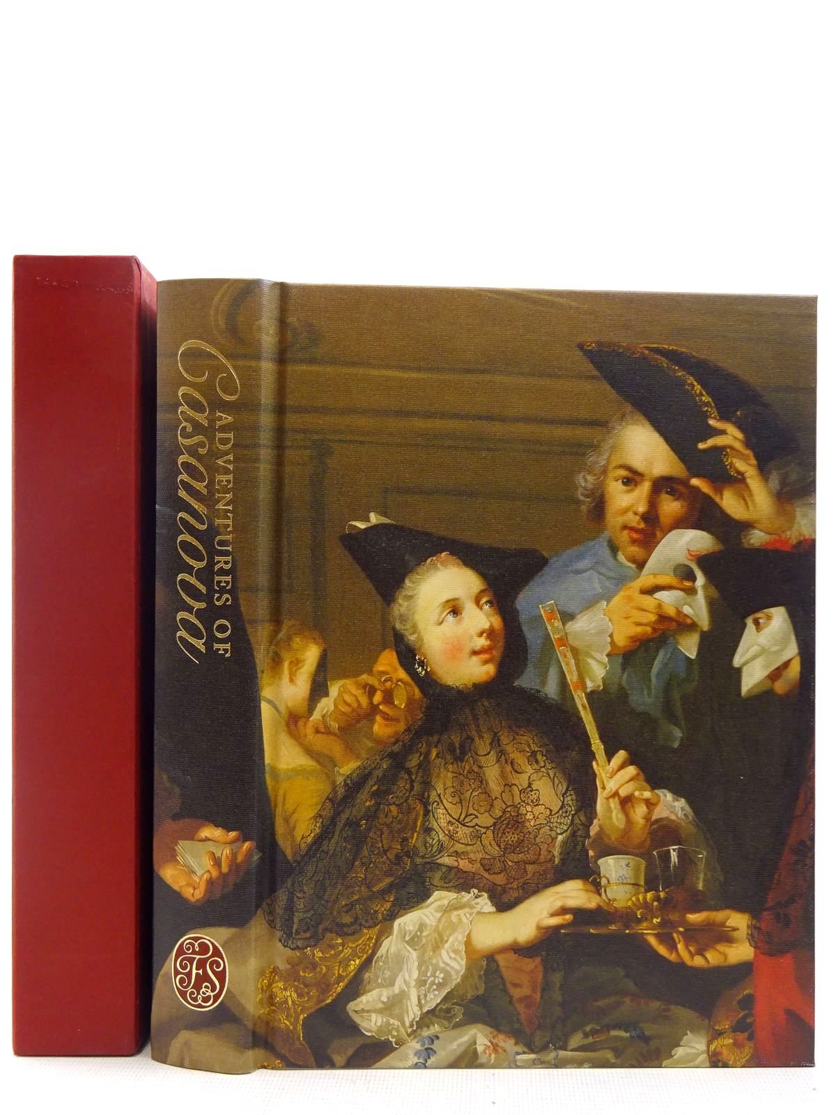 Photo of ADVENTURES OF CASANOVA EPISODES FROM THE HISTORY OF MY LIFE written by Casanova, Giacomo<br />De Seingalt, Chevalier published by Folio Society (STOCK CODE: 2128737)  for sale by Stella & Rose's Books