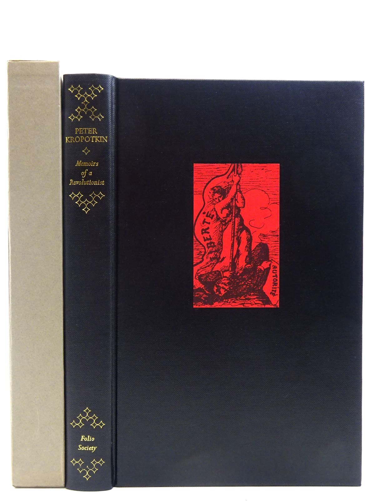 Photo of MEMOIRS OF A REVOLUTIONIST written by Kropotkin, Peter<br />Ward, Colin published by Folio Society (STOCK CODE: 2128743)  for sale by Stella & Rose's Books