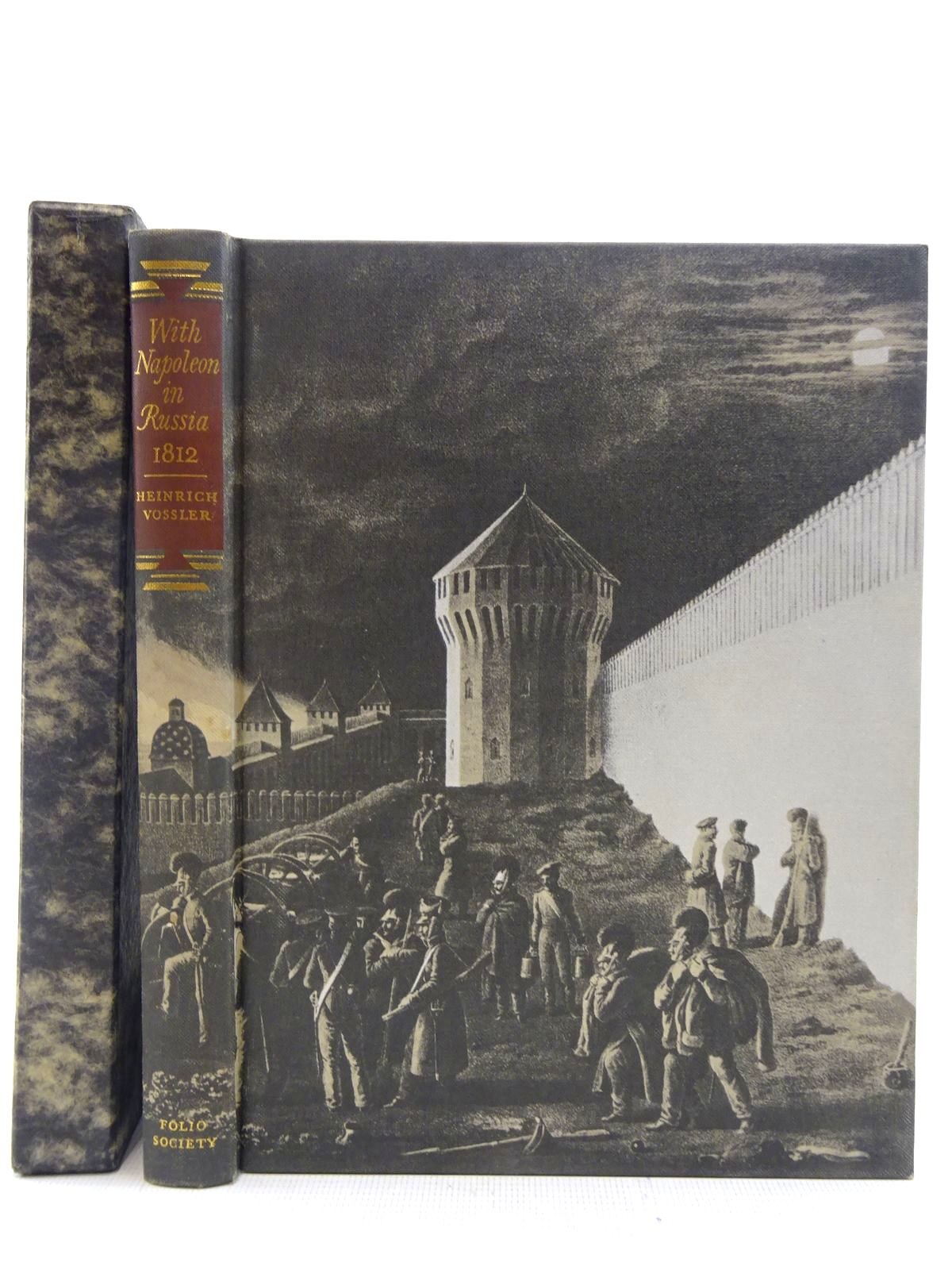 Photo of WITH NAPOLEON IN RUSSIA 1812 written by Vossler, H.A.<br />Wallich, Walter illustrated by Von Faber Du Faur, Christian-Wilhelm published by Folio Society (STOCK CODE: 2128751)  for sale by Stella & Rose's Books