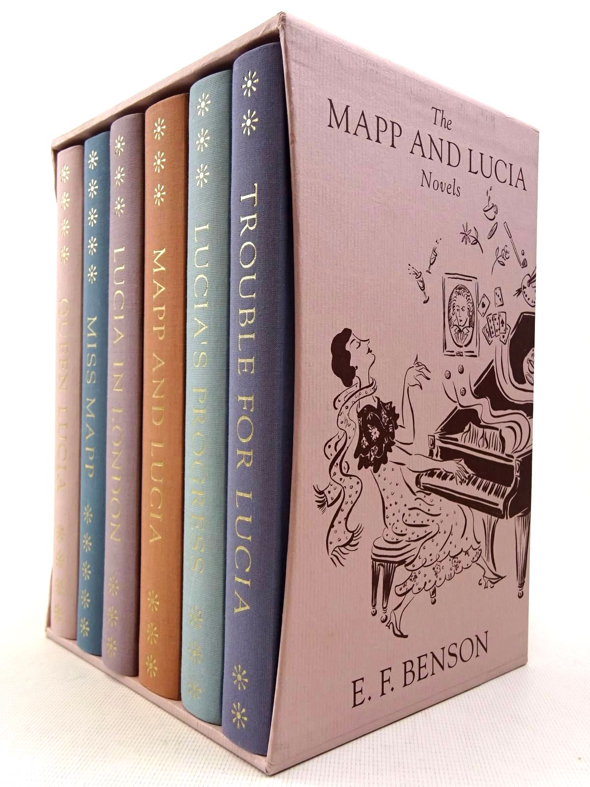 Photo of THE MAPP AND LUCIA NOVELS (6 VOLUMES) written by Benson, E.F. illustrated by Ledwidge, Natacha published by Folio Society (STOCK CODE: 2128755)  for sale by Stella & Rose's Books
