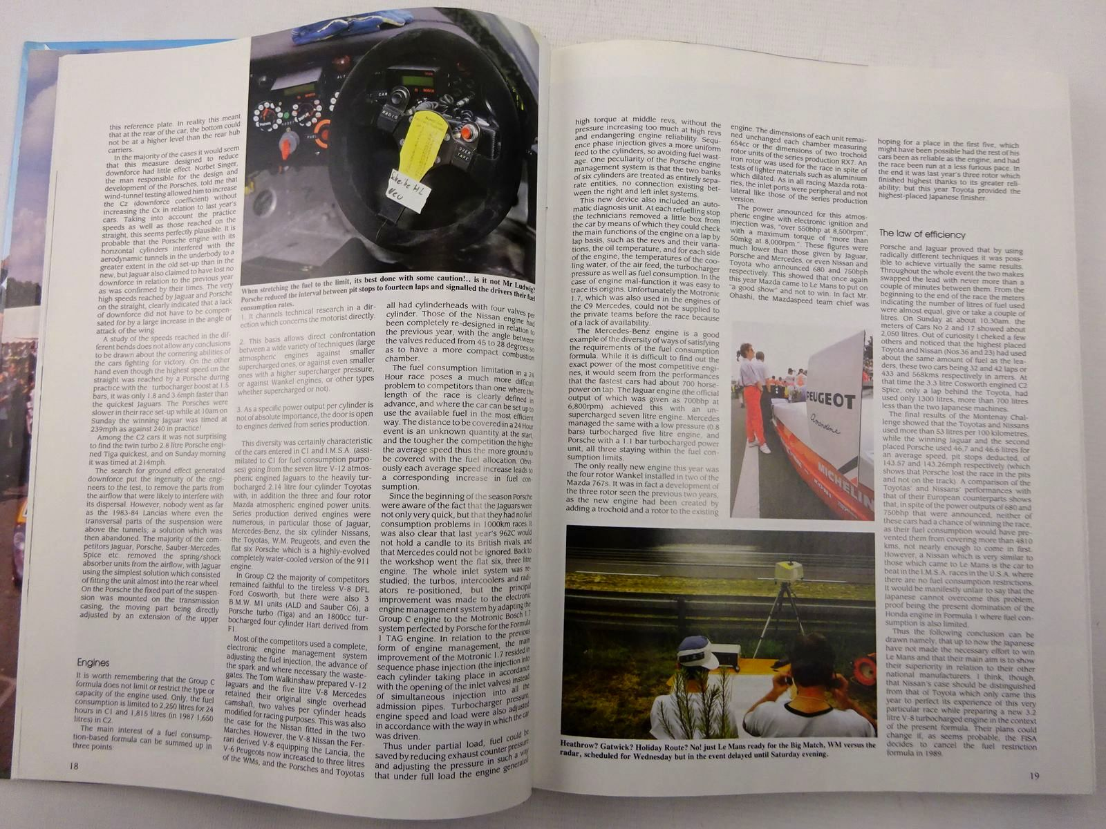 Photo of 1988 LE MANS 24 HOURS written by Moity, Christian<br />Teissedre, Jean-Marc published by Autotechnica (STOCK CODE: 2128758)  for sale by Stella & Rose's Books