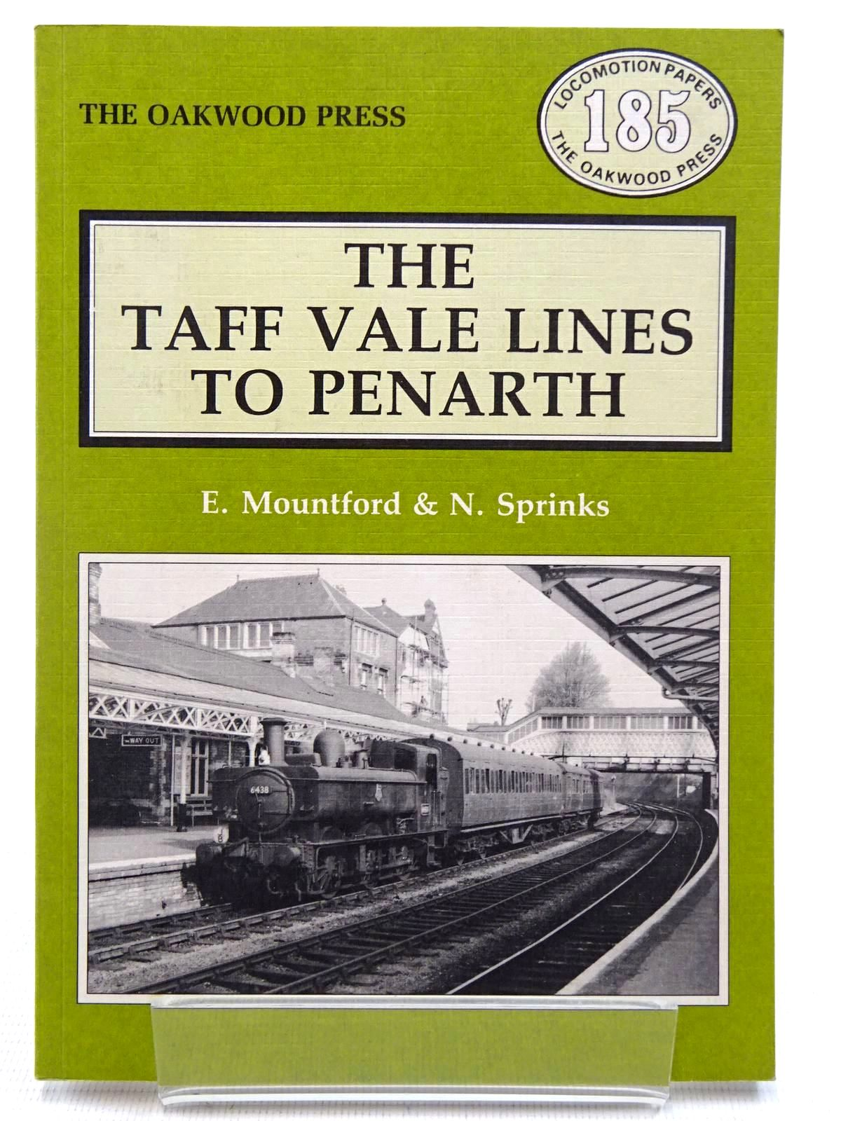 Photo of THE TAFF VALE LINES TO PENARTH written by Mountford, Eric R.<br />Sprinks, Neil W. published by The Oakwood Press (STOCK CODE: 2128769)  for sale by Stella & Rose's Books