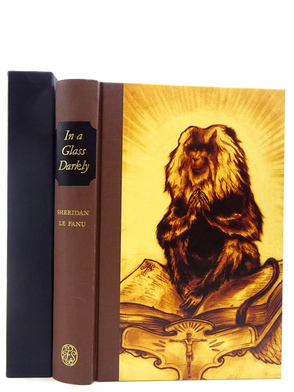 Photo of IN A GLASS DARKLY written by Le Fanu, J. Sheridan illustrated by Campbell-Notman, Finn published by Folio Society (STOCK CODE: 2128856)  for sale by Stella & Rose's Books