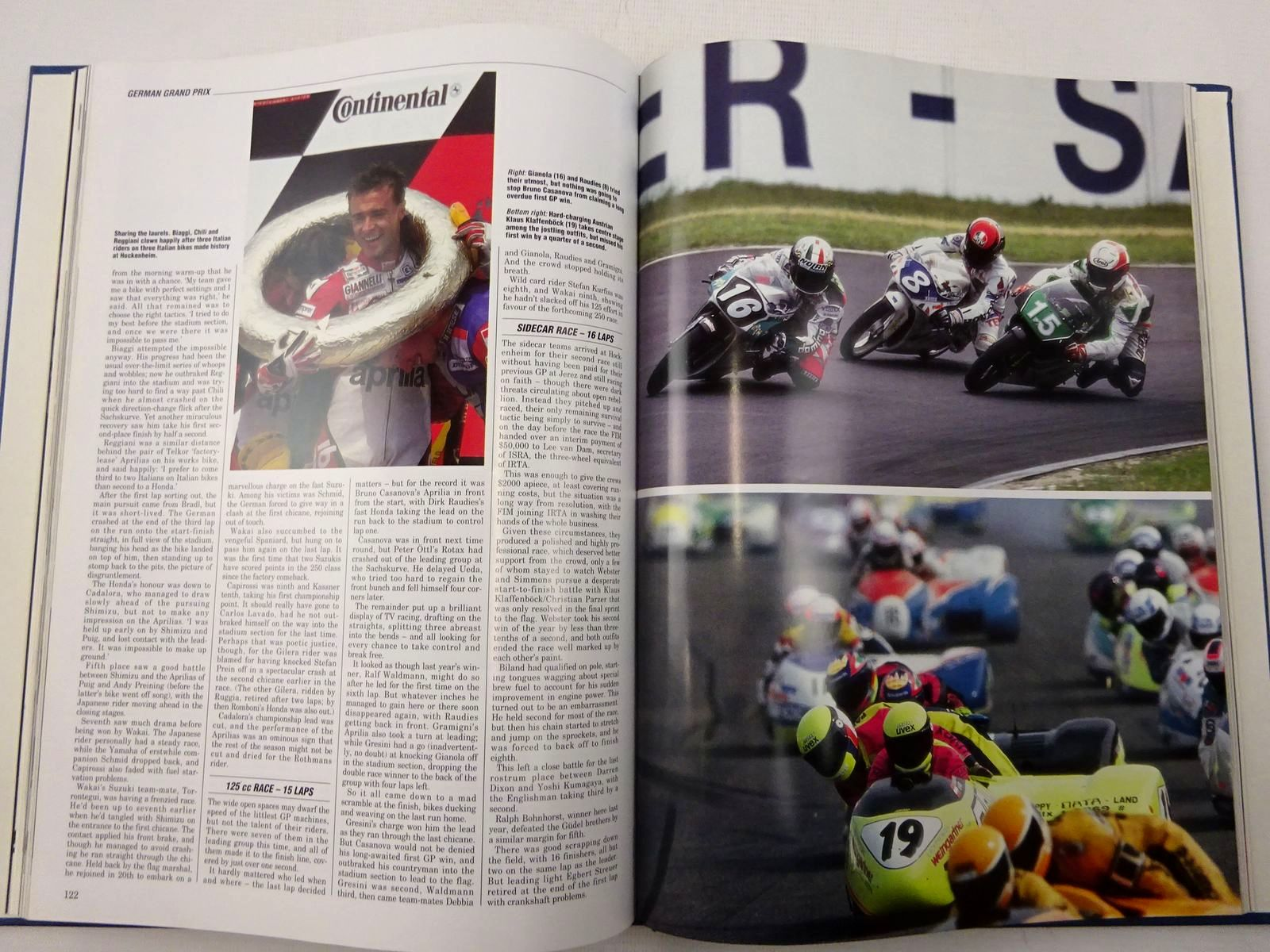 Photo of MOTOCOURSE 1992-93 published by Hazleton Publishing (STOCK CODE: 2128896)  for sale by Stella & Rose's Books
