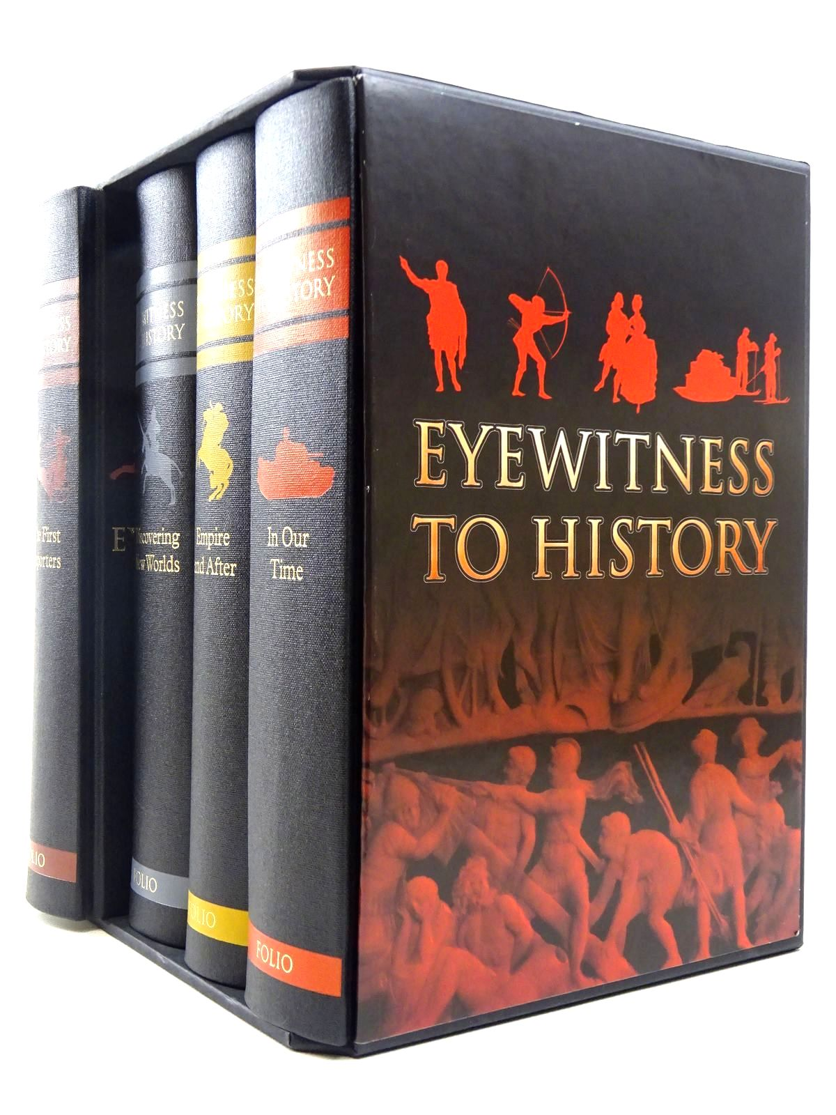 Photo of EYEWITNESS TO HISTORY written by Fox, Robert published by Folio Society (STOCK CODE: 2128909)  for sale by Stella & Rose's Books