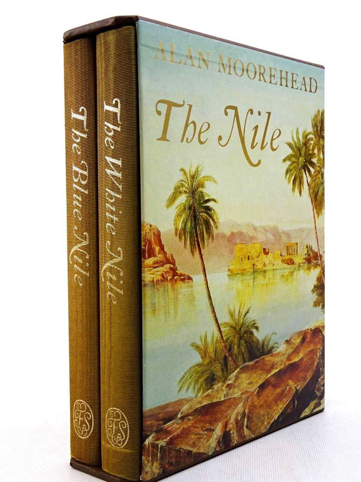 Photo of THE NILE (2 VOLUMES) written by Moorehead, Alan published by Folio Society (STOCK CODE: 2128966)  for sale by Stella & Rose's Books
